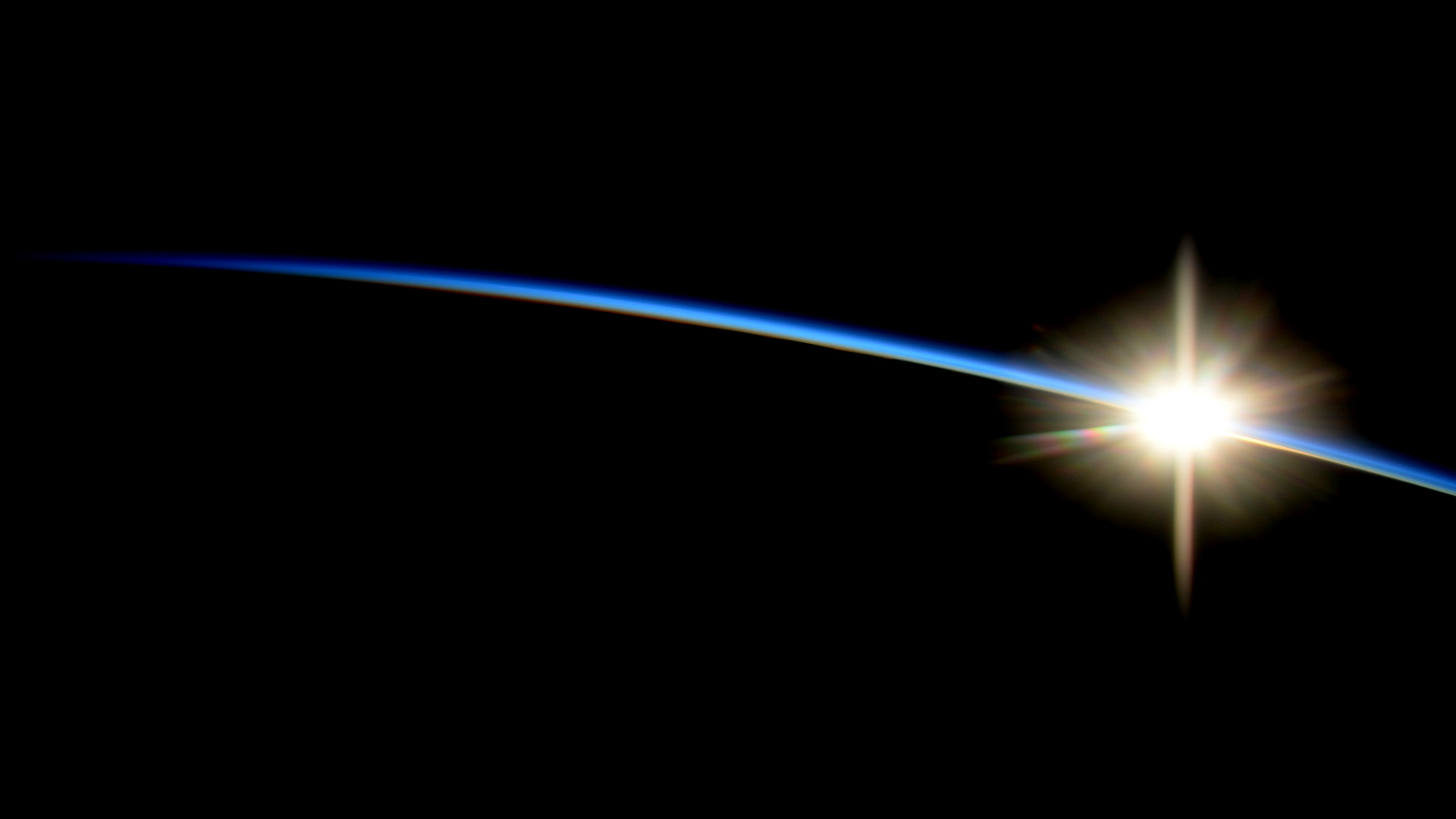 Sunrise From the International Space Station  NASA