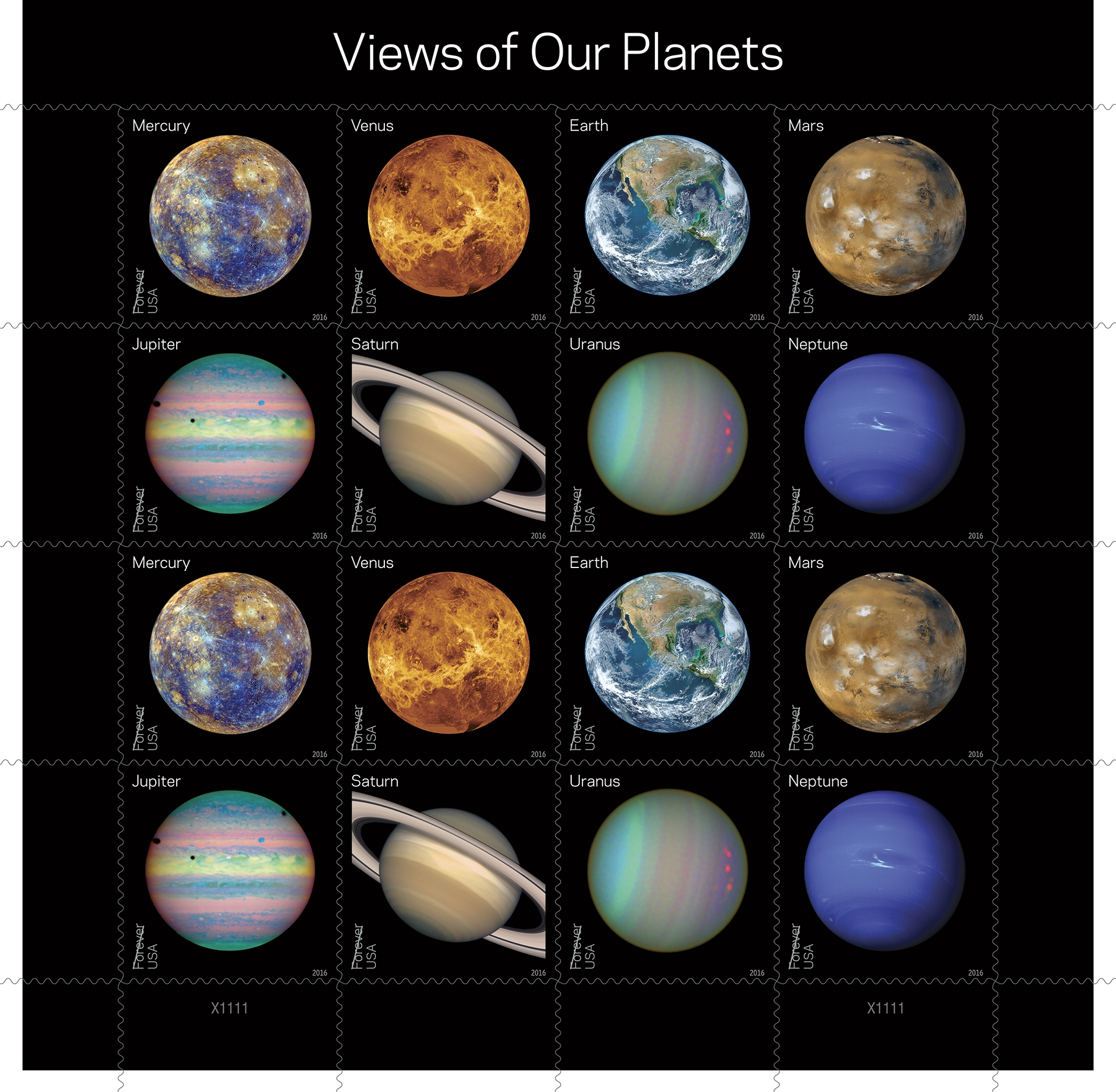 New Stamps Honoring NASA Planetary Discoveries Debut May 31