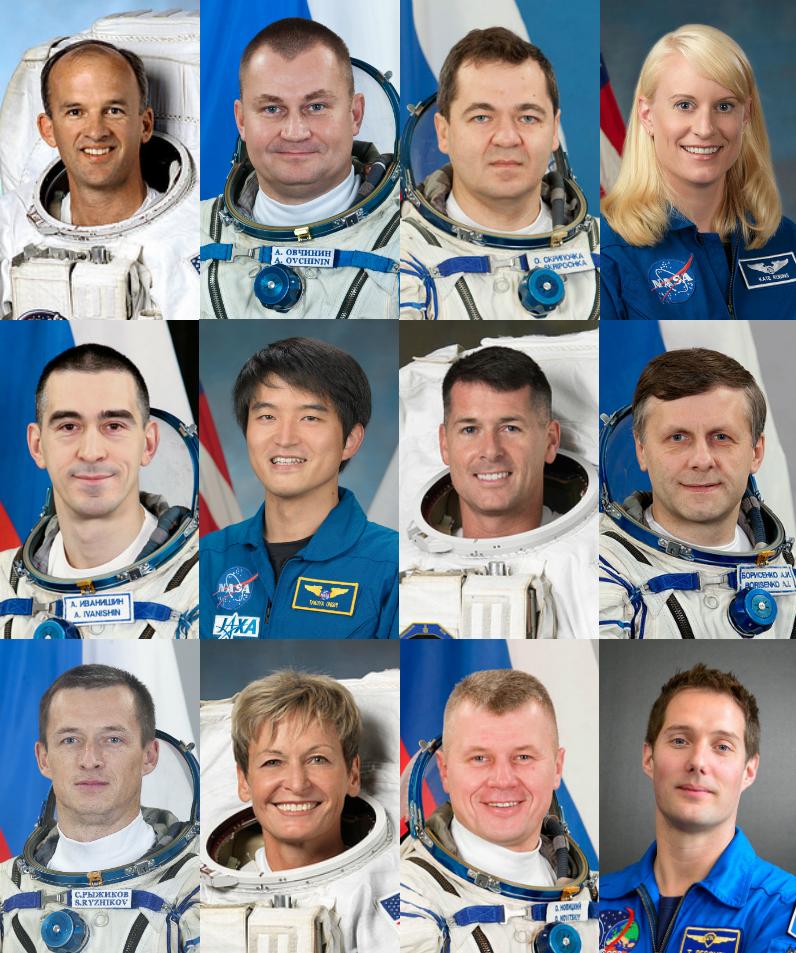 names of crew member of nasa - photo #44