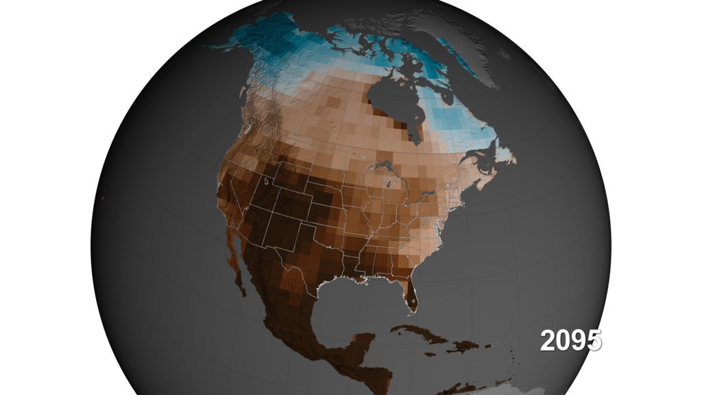 Study Carbon Emissions Could Increase Risk Of US Megadroughts - Us air moisture map