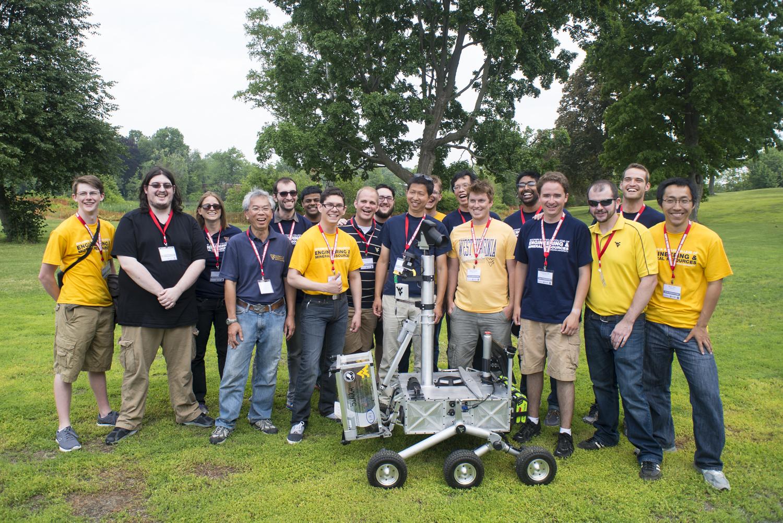 nasa holds final sample return robot competition nasa robotics · robotoics team the mountaineers a team from west virginia university morgantown