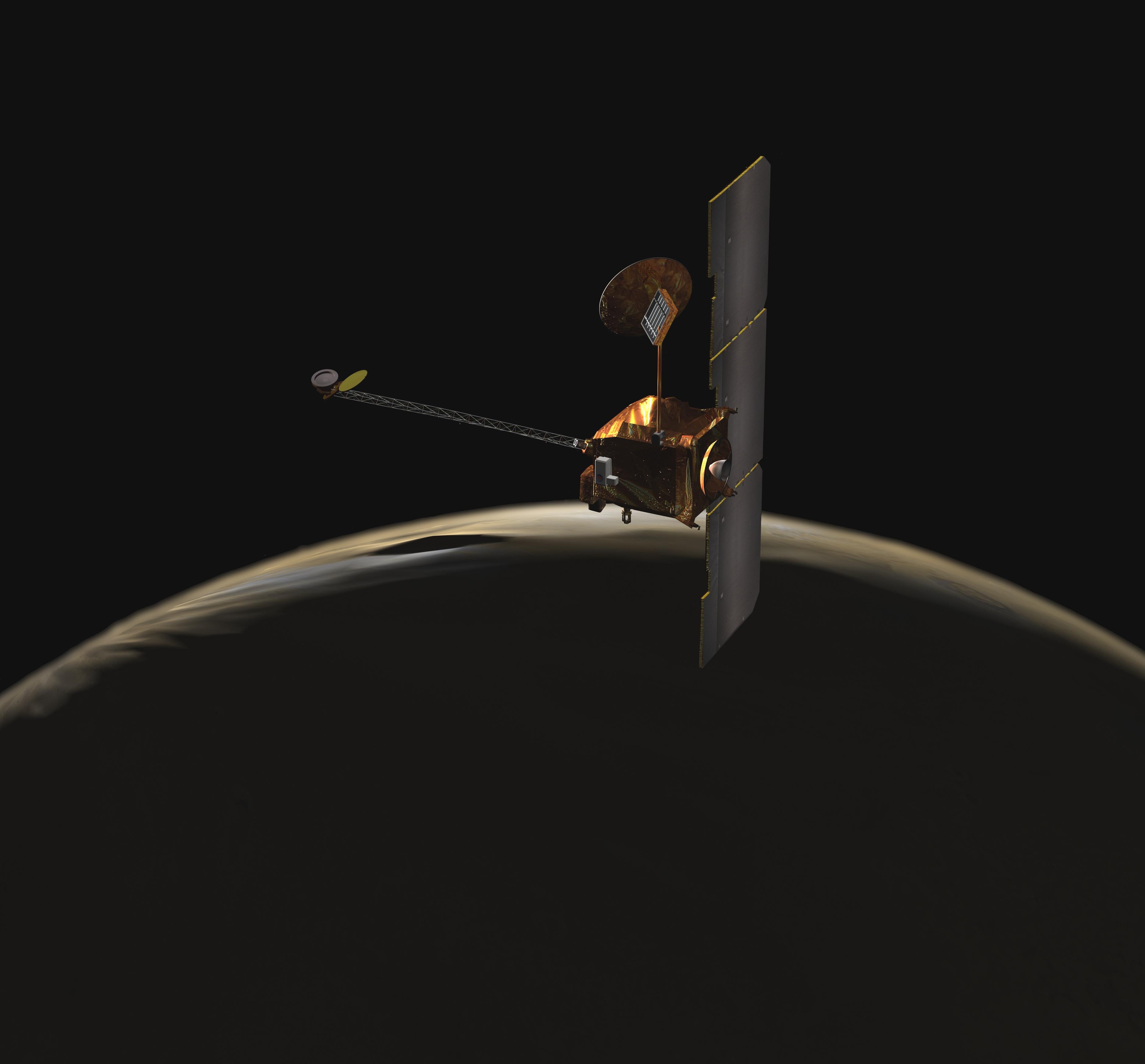 Nasa Spacecraft Nears 60000th Lap Around Mars No Pit Stops Infrared Video Of A Hovering Lander Moon To Nasas Odyssey
