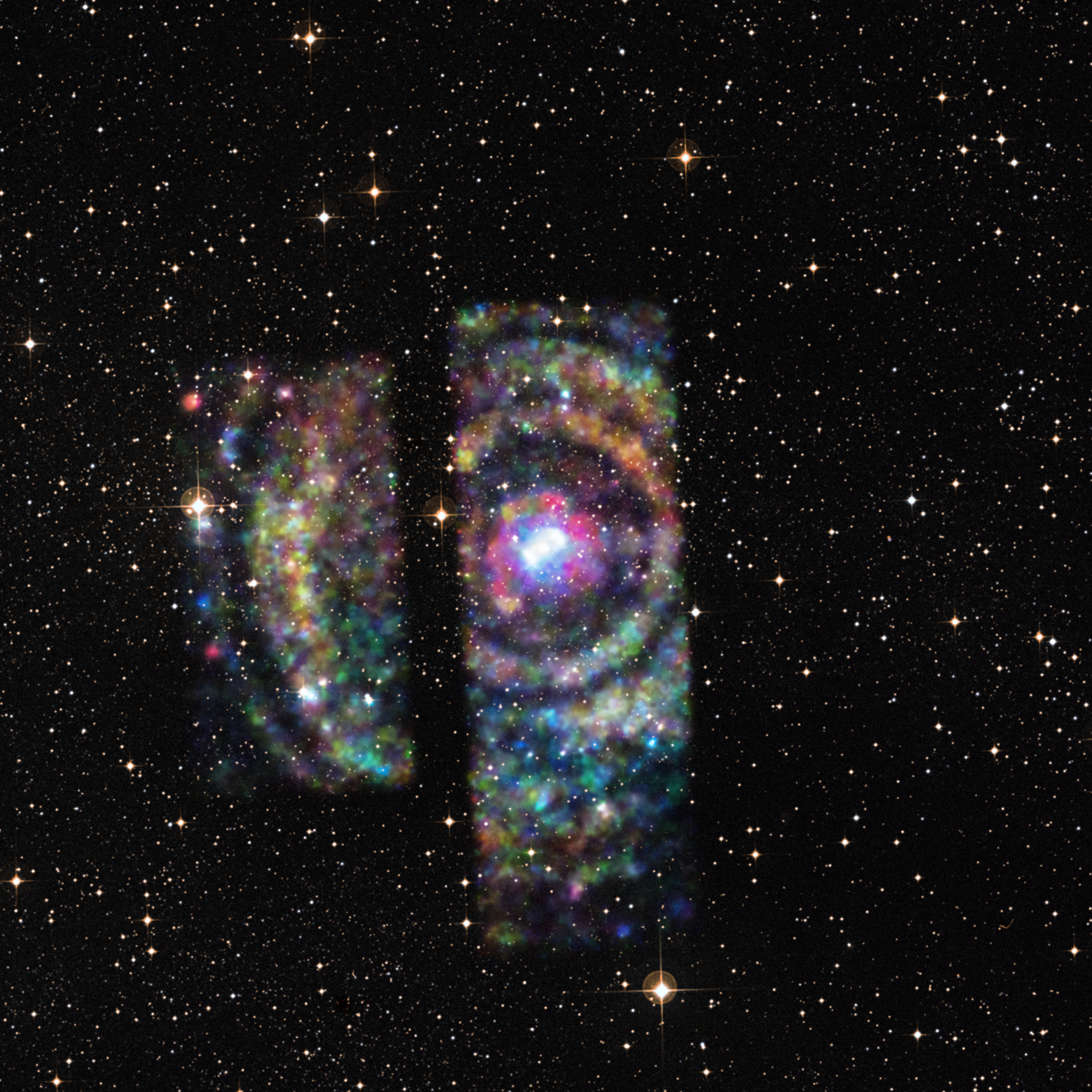 NASA's Chandra Captures X-Ray Echoes Pinpointing Distant ...
