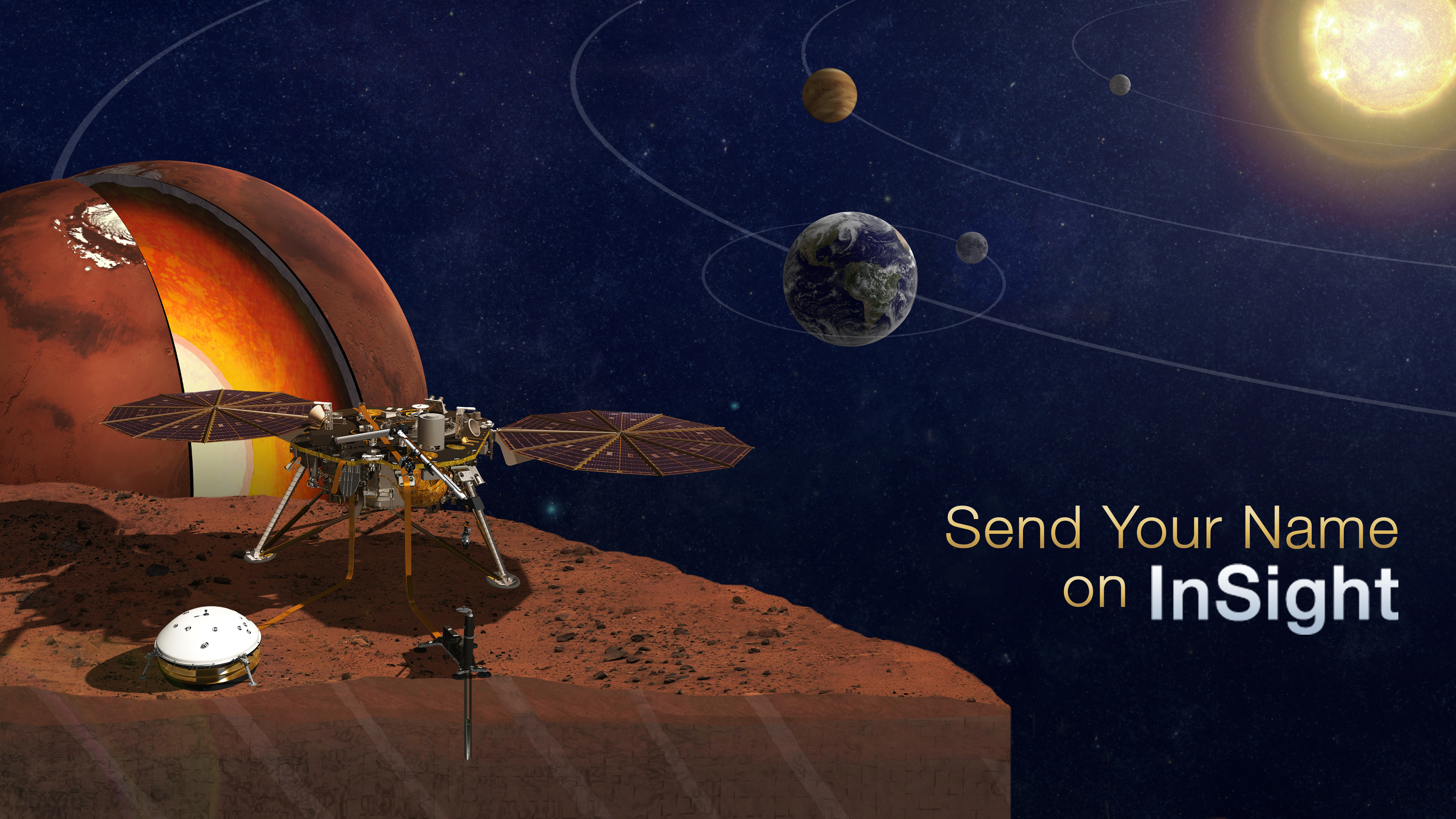 Send Your Name To Mars On NASAs Next Red Planet Mission