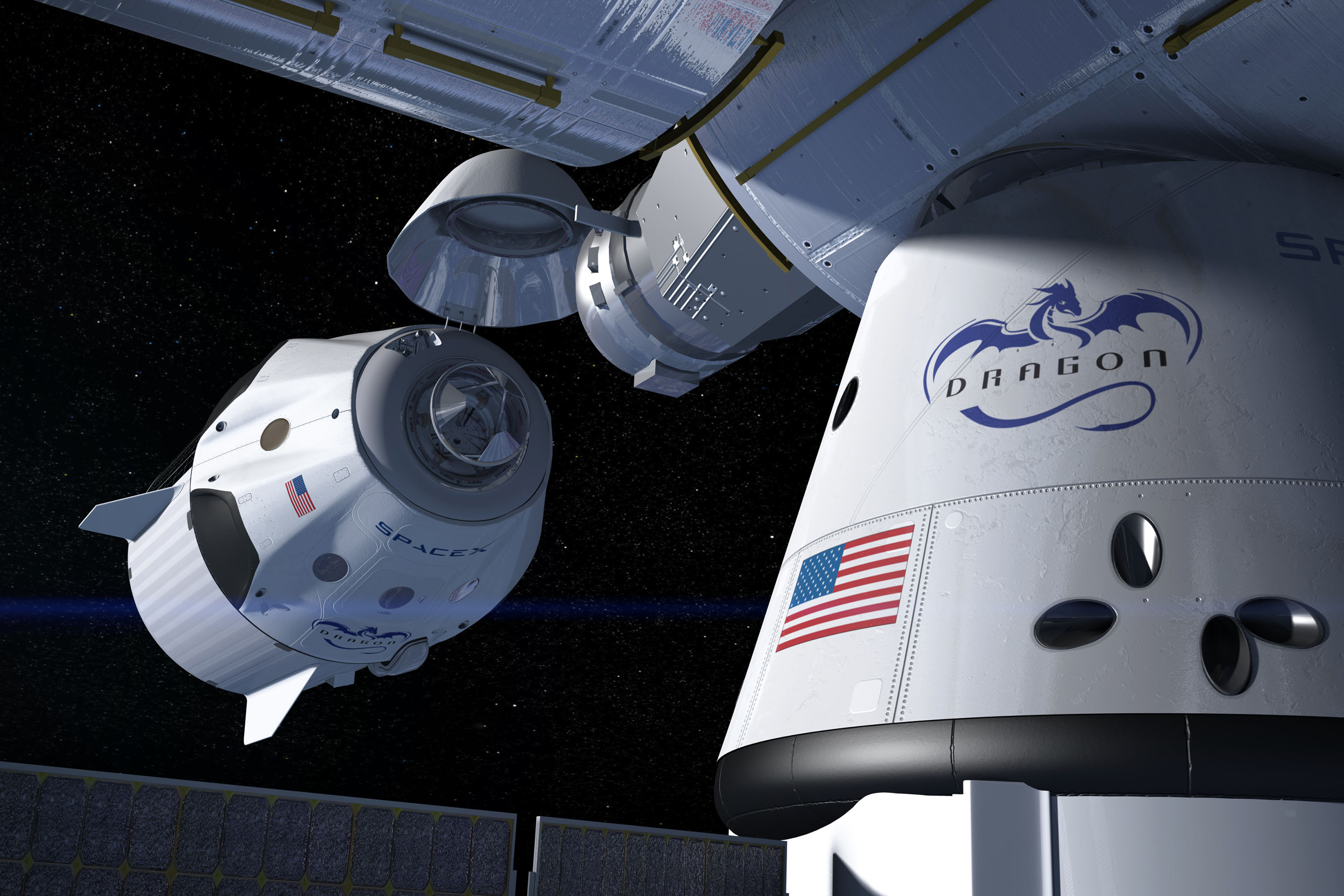 NASA Orders Second SpaceX Crew Mission to International ...