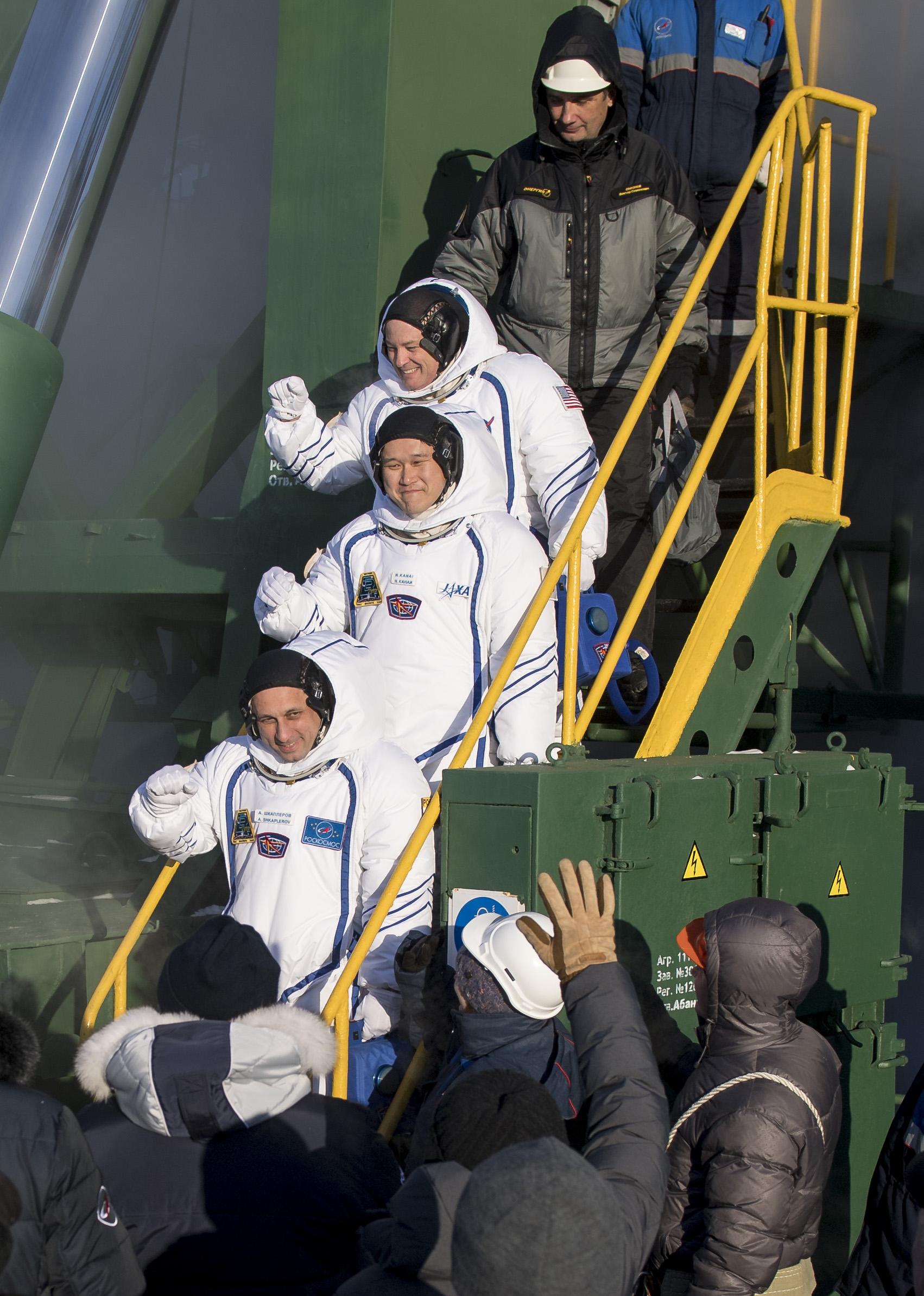 Three New Crew Members on Voyage to International Space Station | NASA