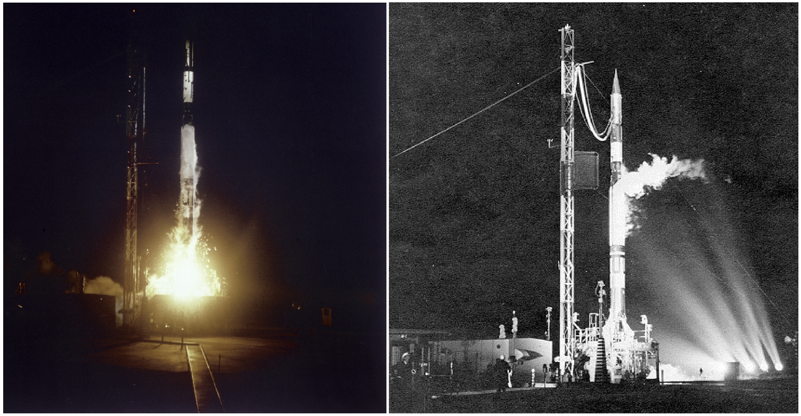 March 1958 Vanguard Launched Nasa