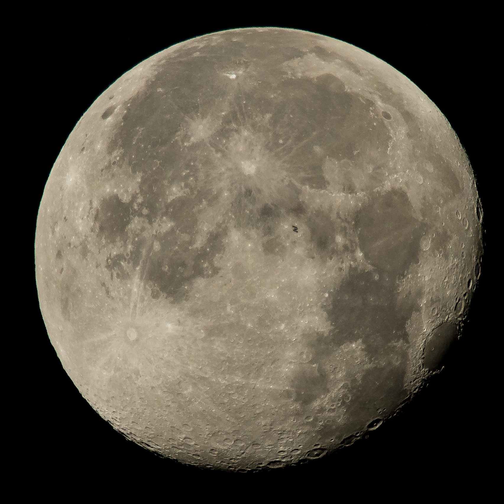 space station lunar transit - photo #1