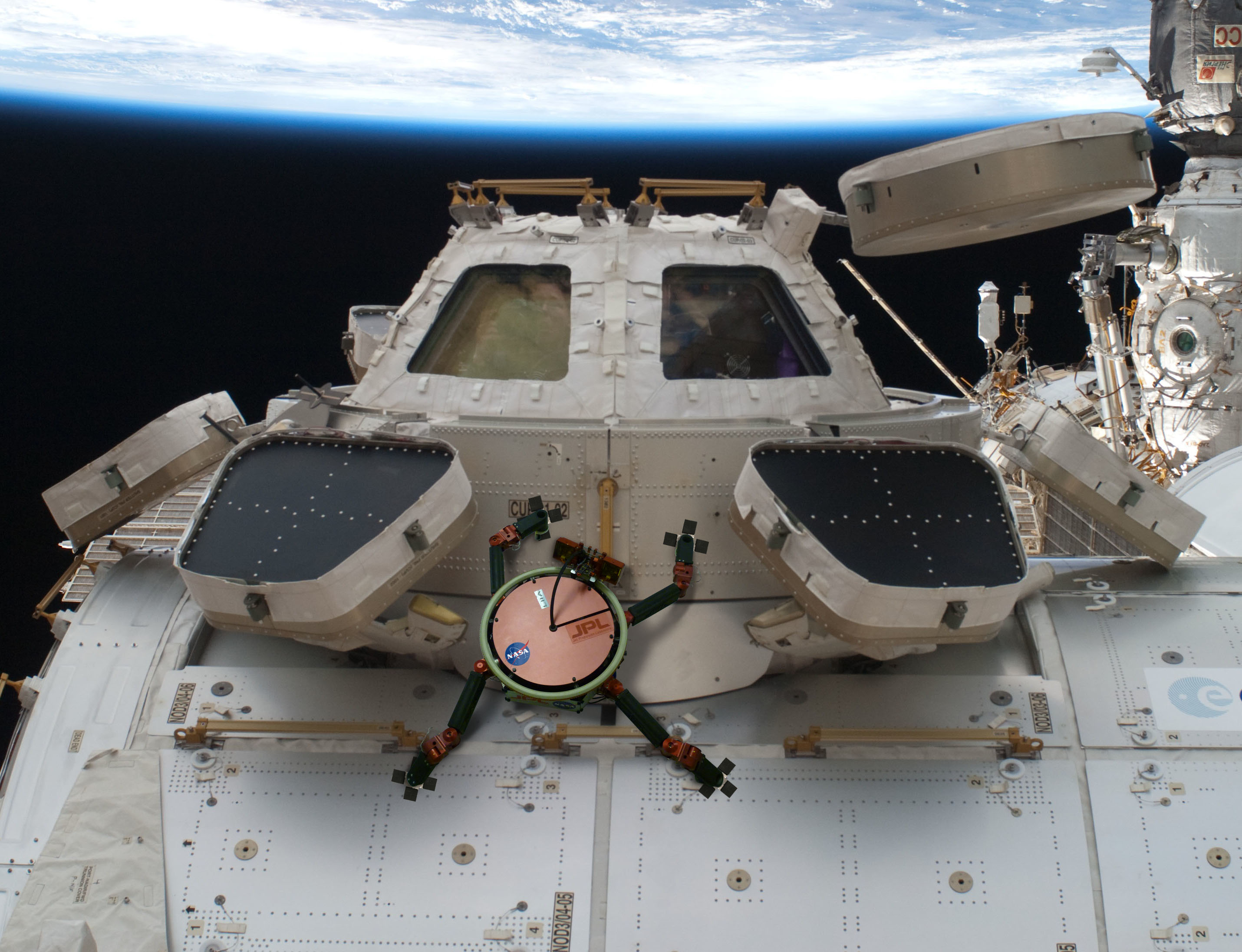 Gecko Grippers Moving On Up  NASA