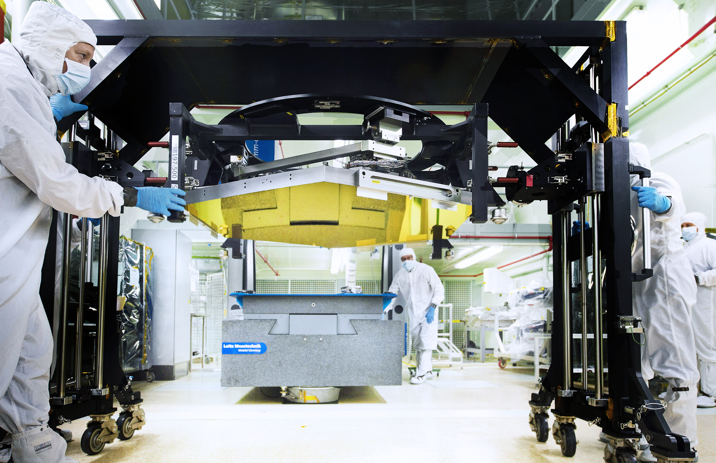 Round of Testing Completed on Webb Telescope Flight Mirrors