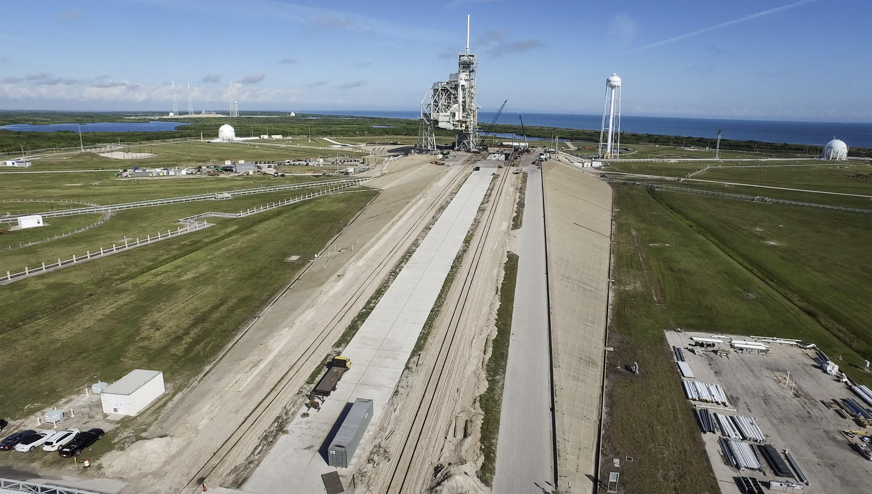 spacex launch pad 39a - photo #13