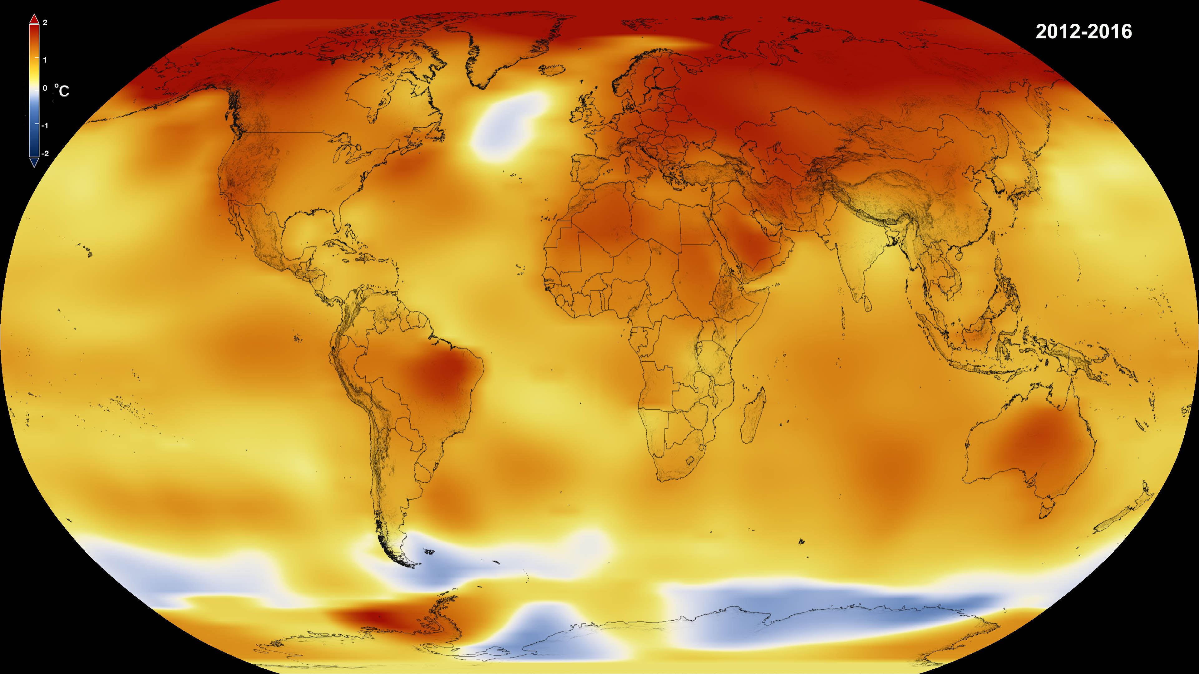 NASA, NOAA Data Show 2016 Warmest Year on Record Globally | NASA