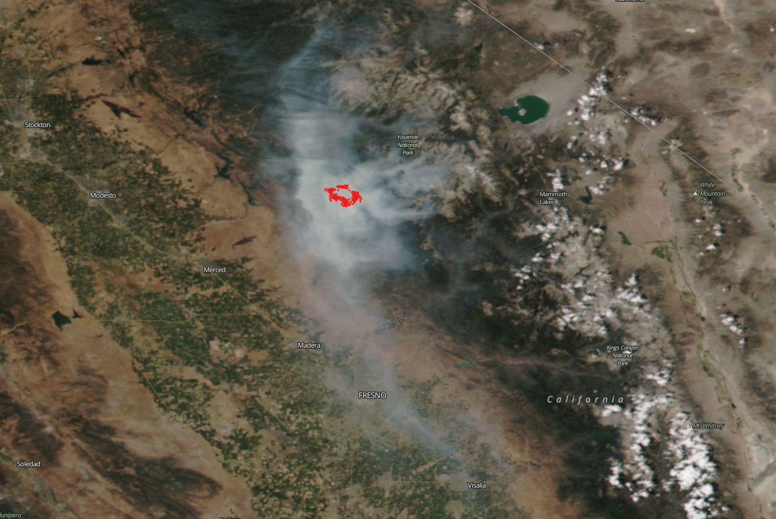 Yosemite Forum • View topic - Ferguson Fire - smoke reports etc