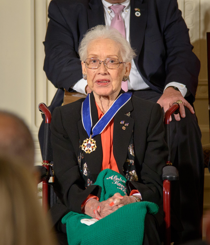 katherine johnson receives presidential medal of freedom nasa - Astronomy Jobs At Nasa