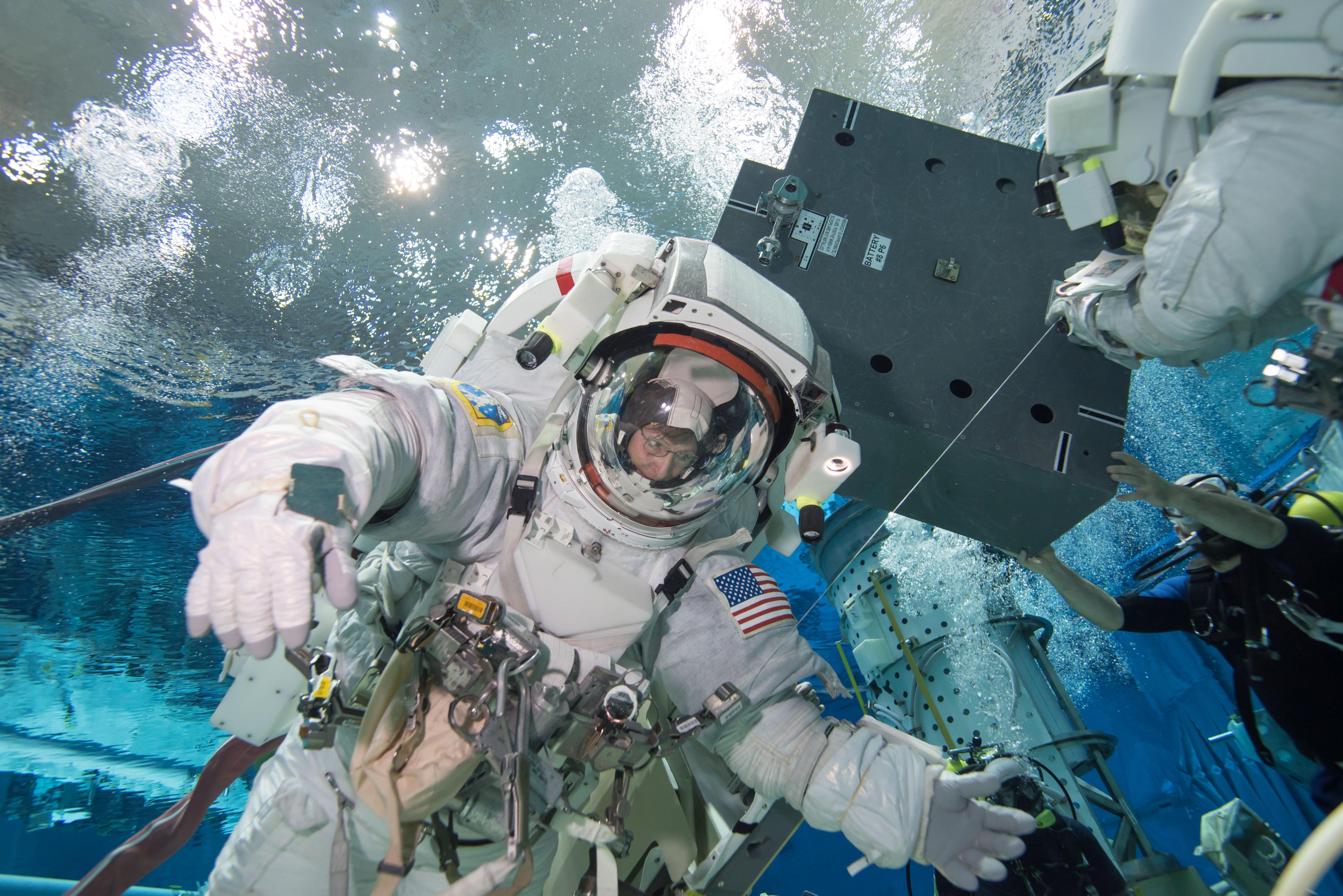 Astronaut Peggy Whitson Trains For a Spacewalk | NASA