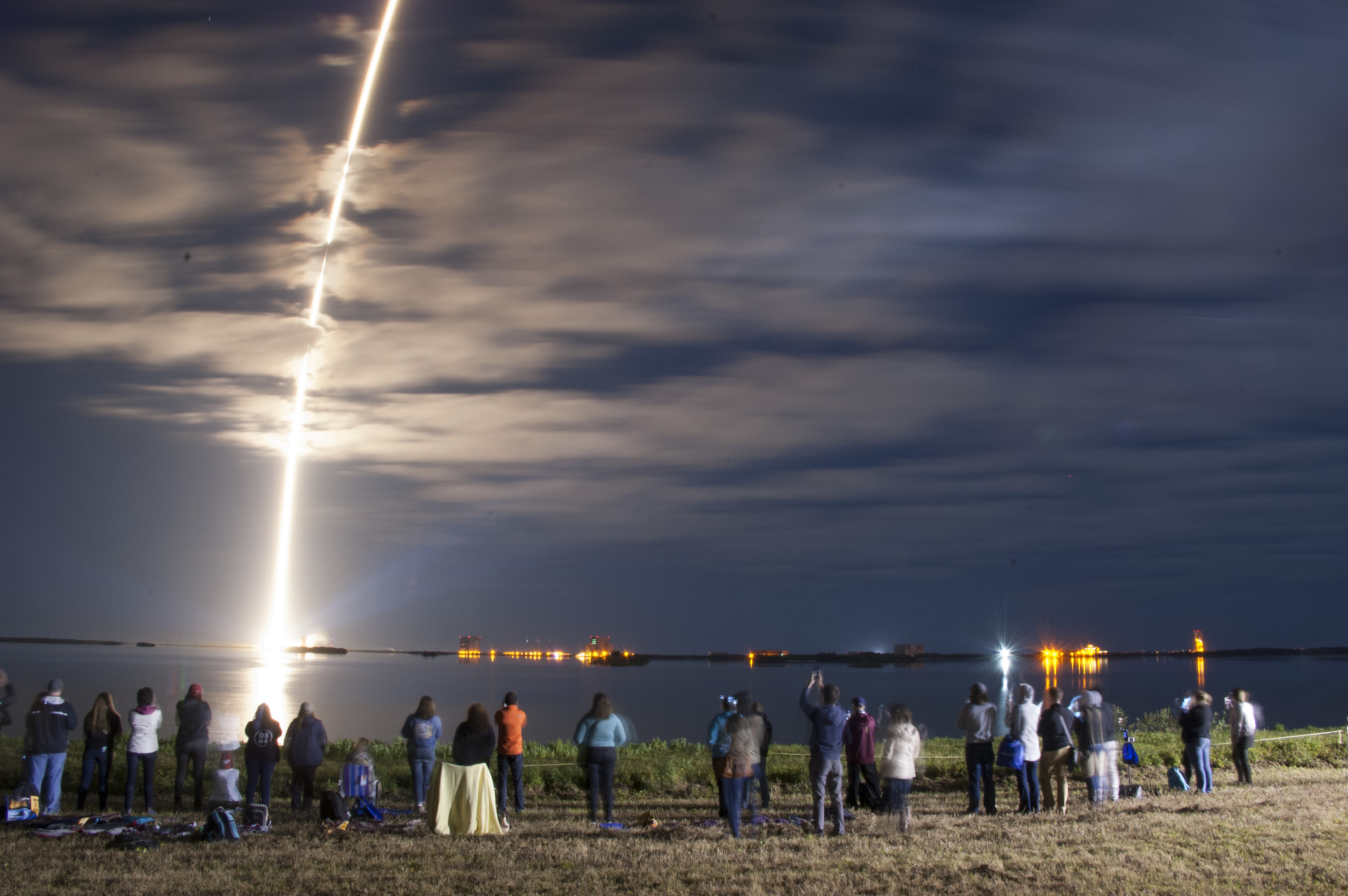 Experience the next cargo launch to the space station from for Space station florida