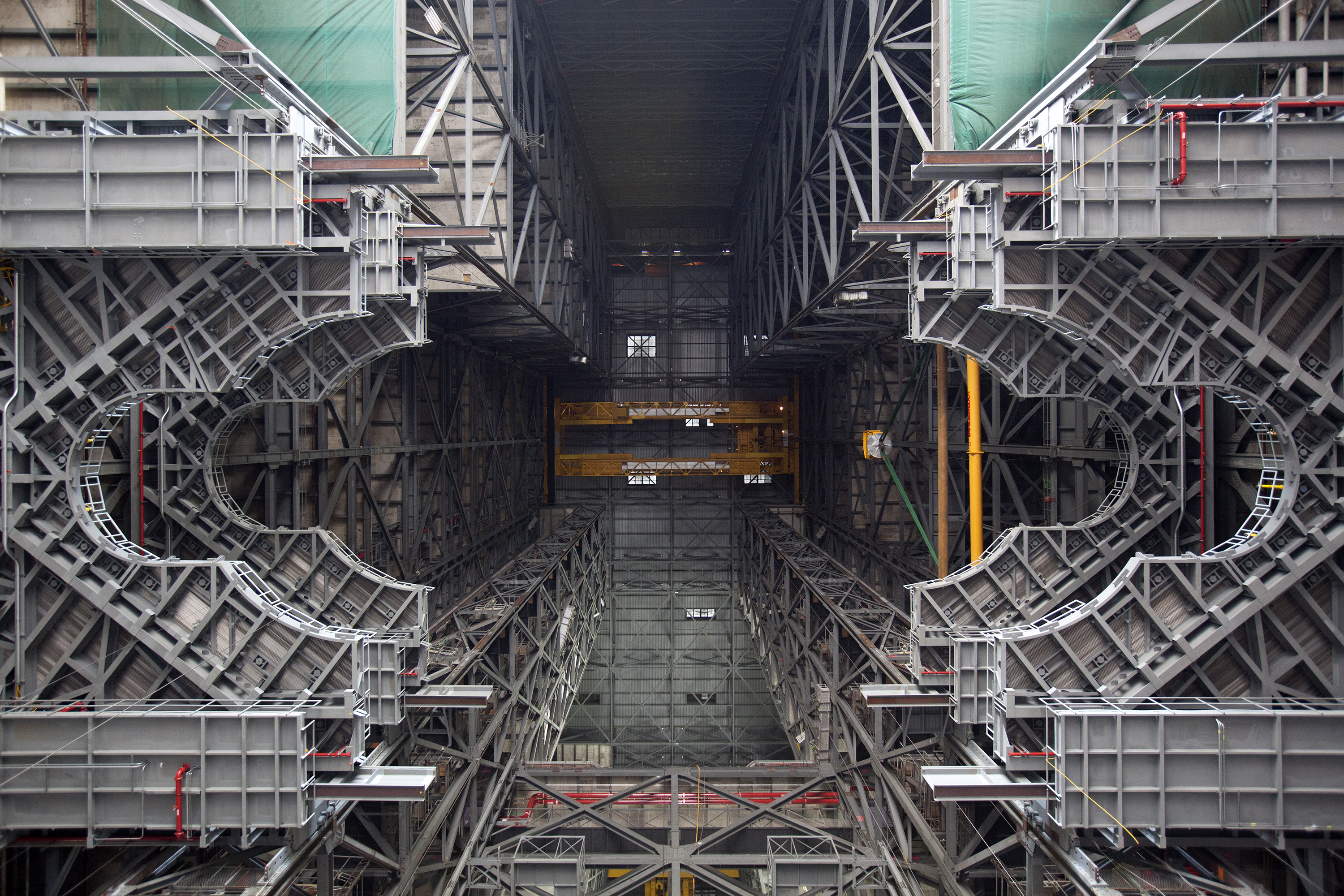 Preparing the vehicle assembly building for nasa 39 s next for Nasa architecture