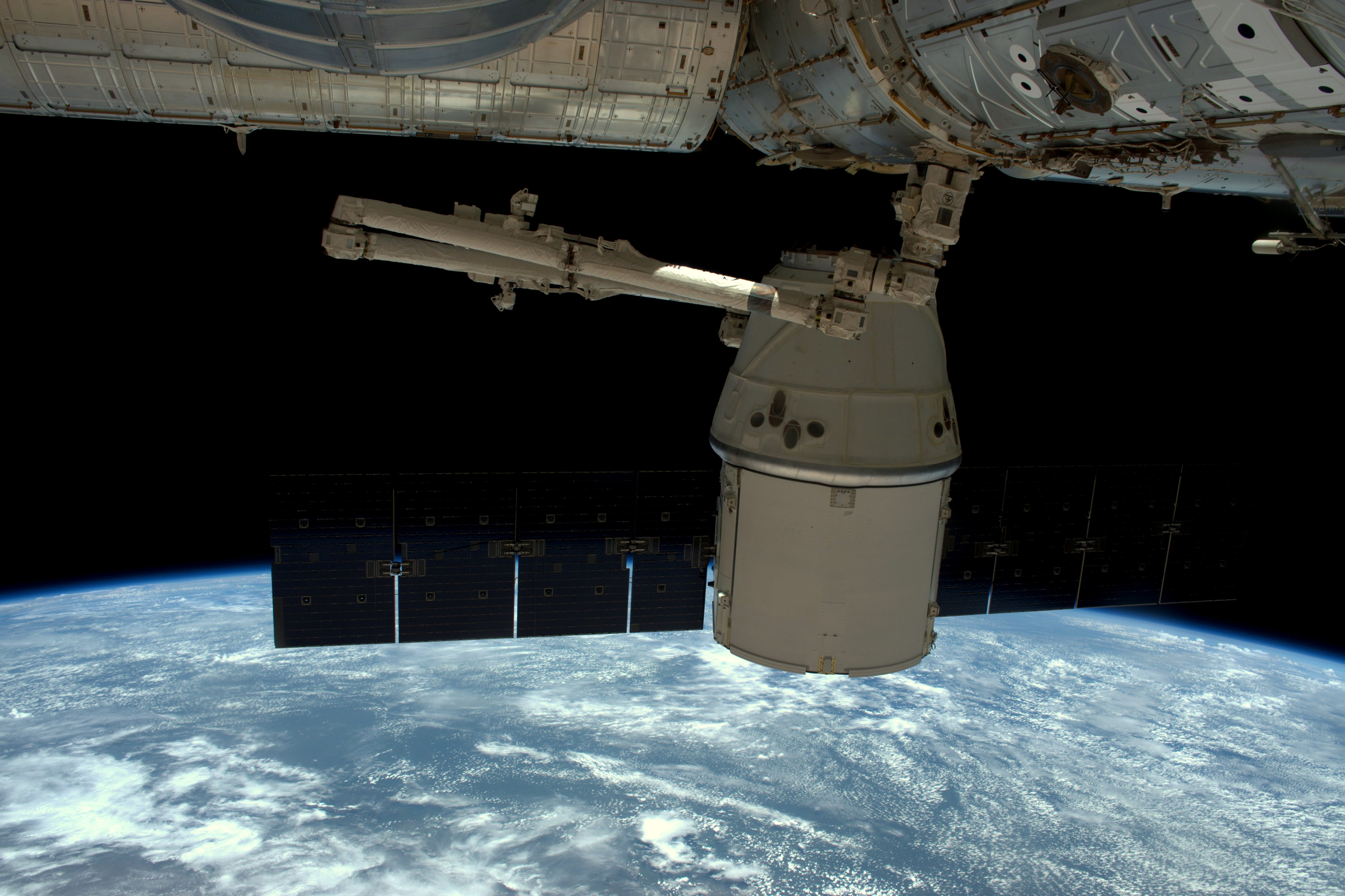 Full of Science, Dragon Spacecraft Undocks for Return to ...