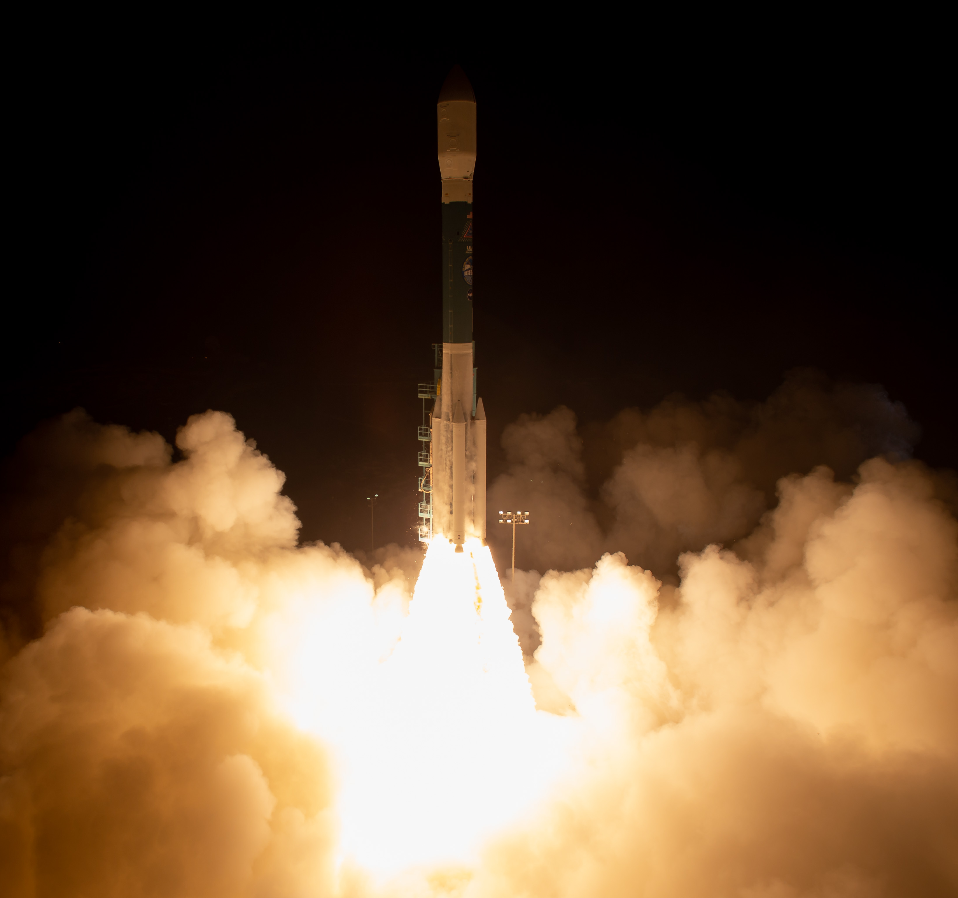 ICESat-2 Lifts Off to Study Earth's Changing Ice
