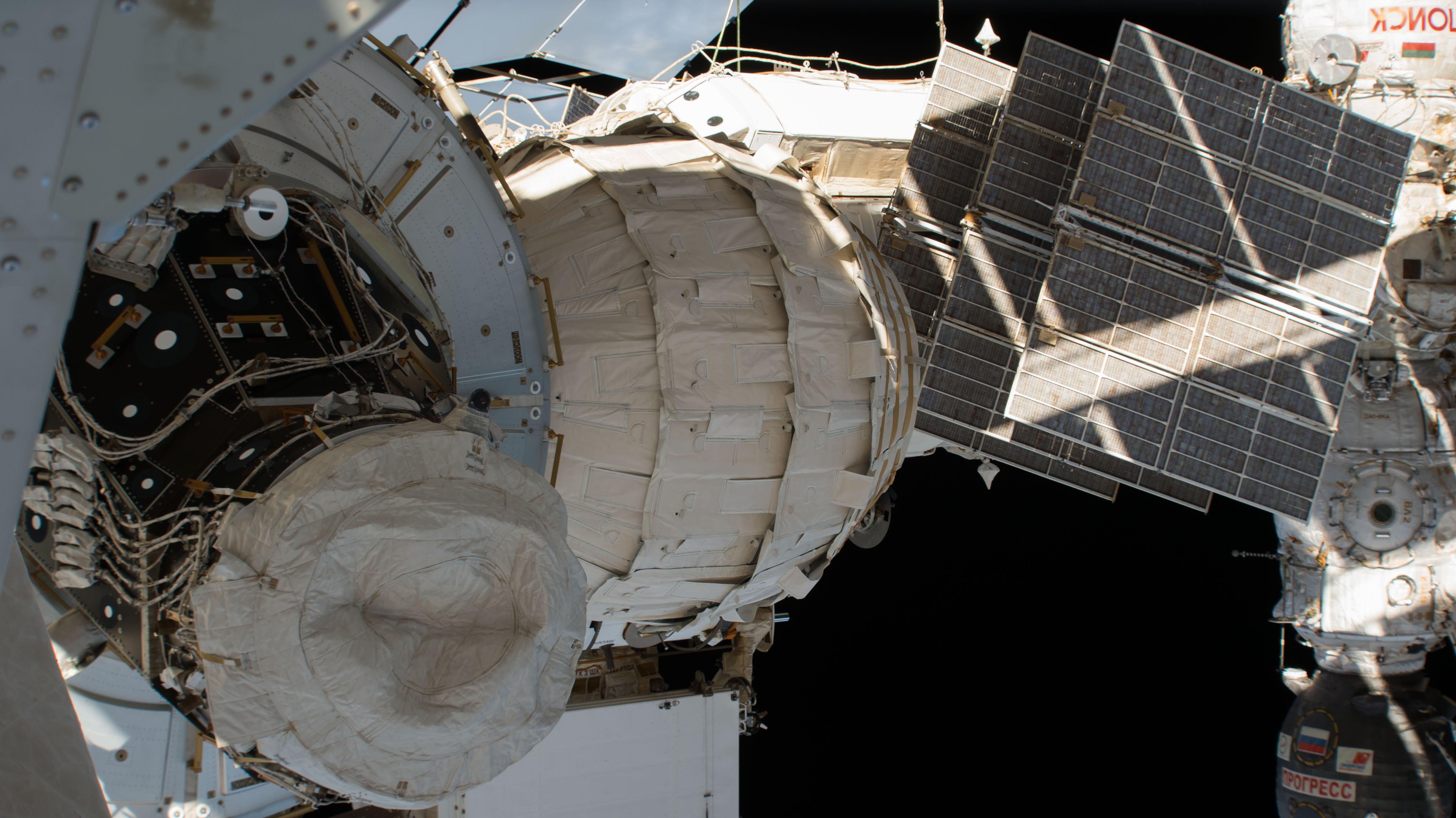 Space Station's Expandable Habitat