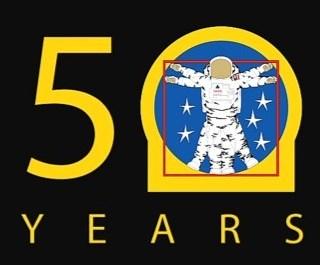nasa 50th anniversary t shirt