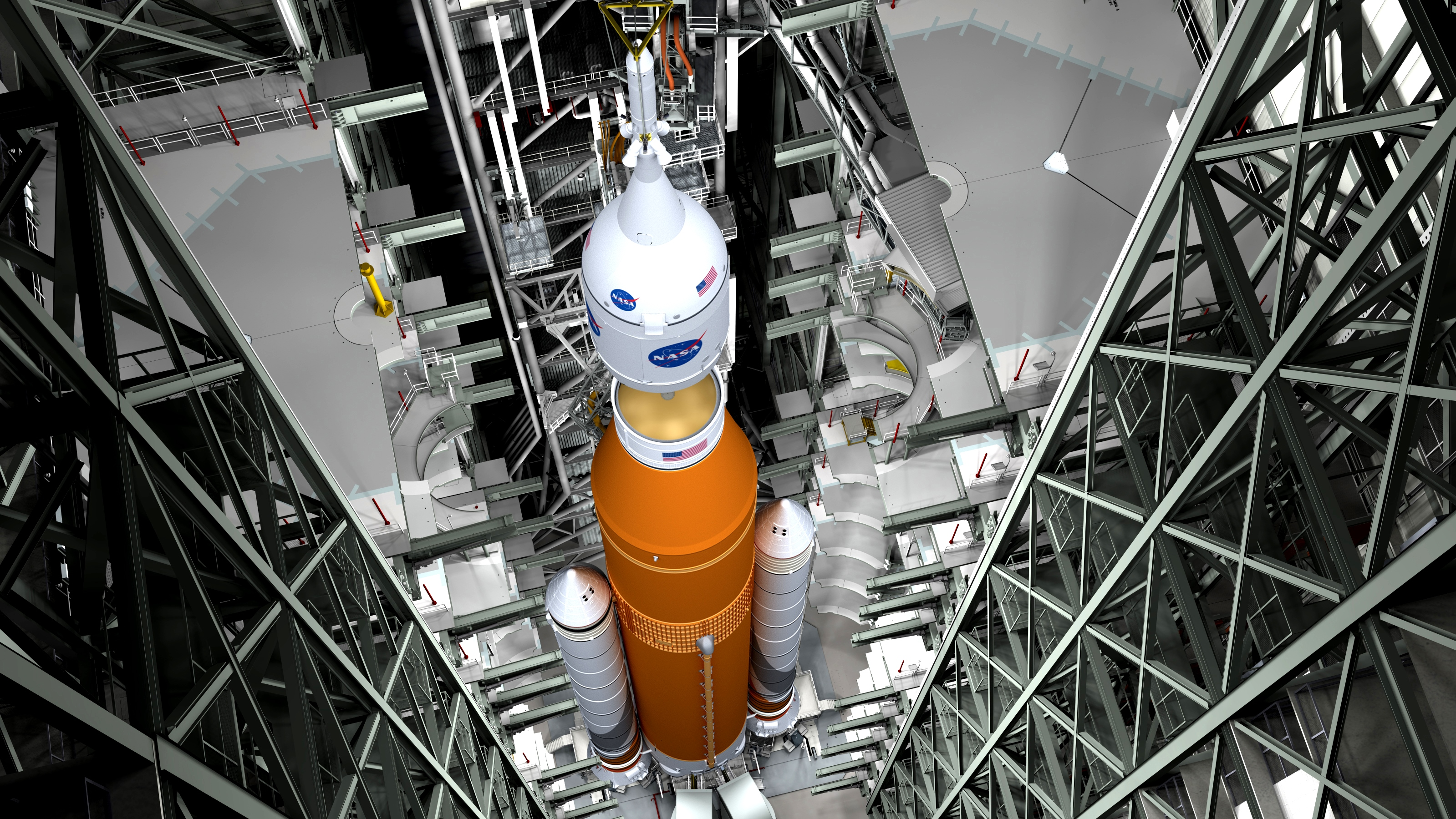 Na nasa new space shuttle design - Inside The Vehicle Assembly Building