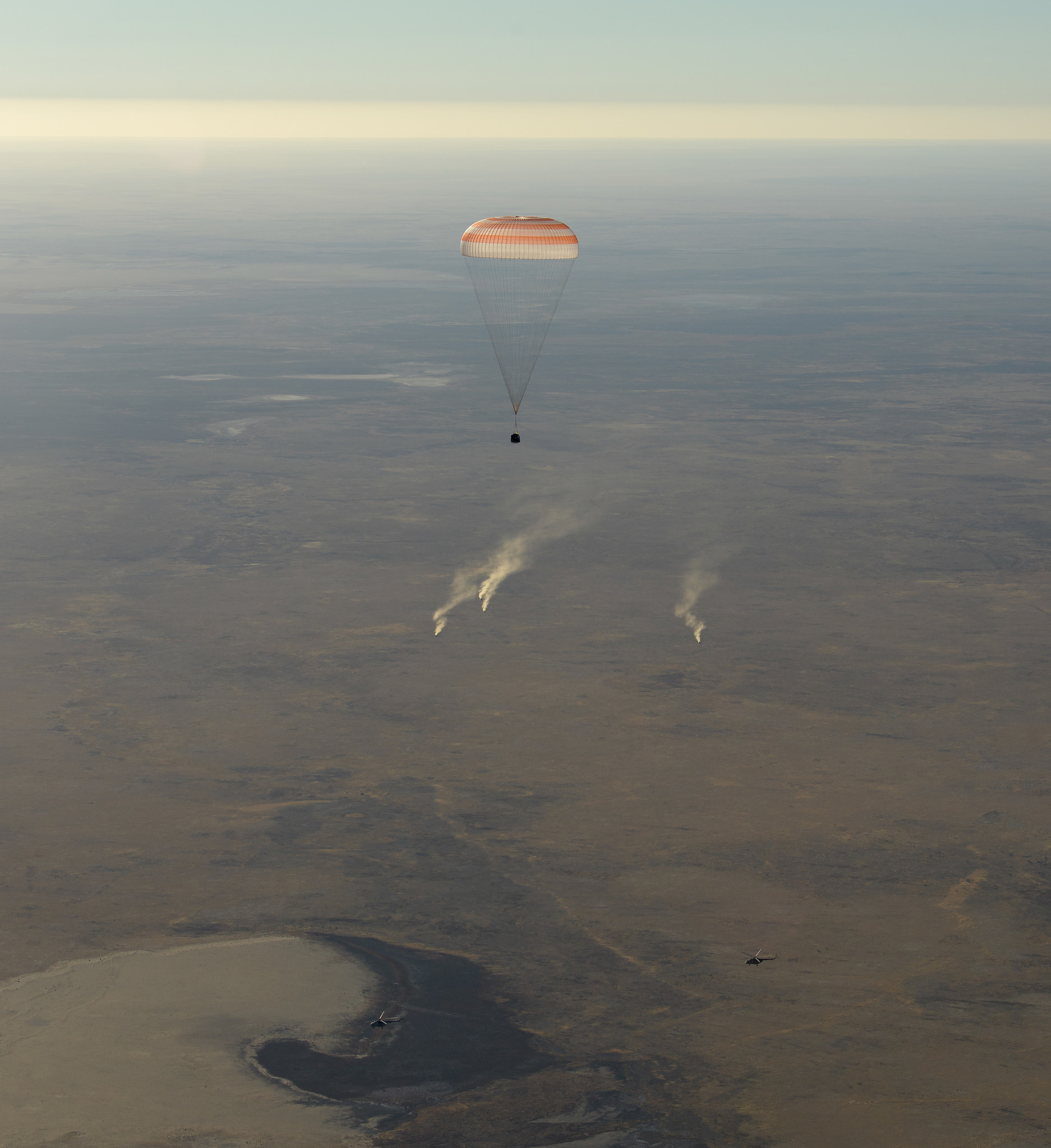 Home Again! Space Station Crew Lands | NASA