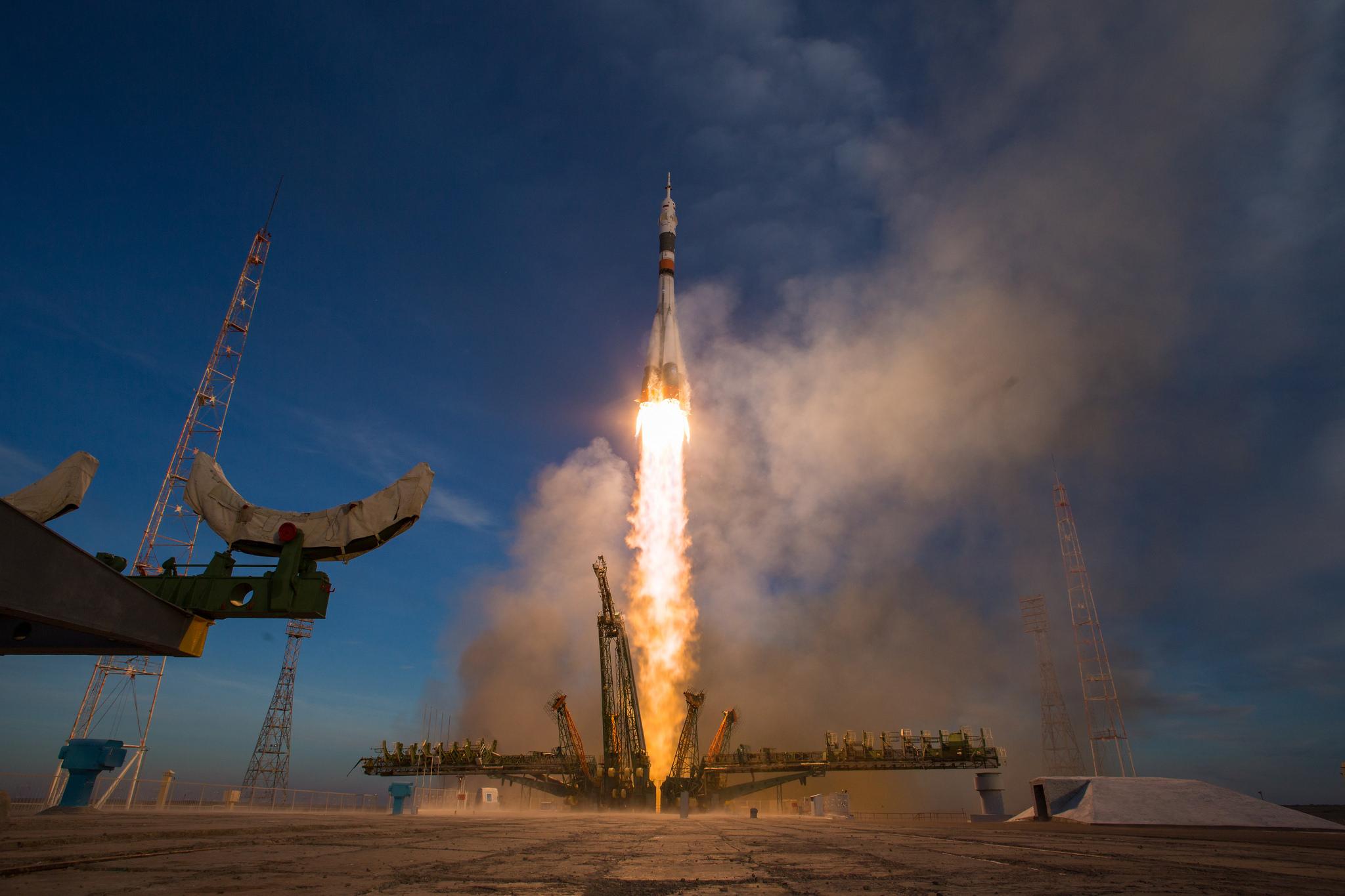 NASA Astronaut Anne McClain and Crewmates Arrive Aboard