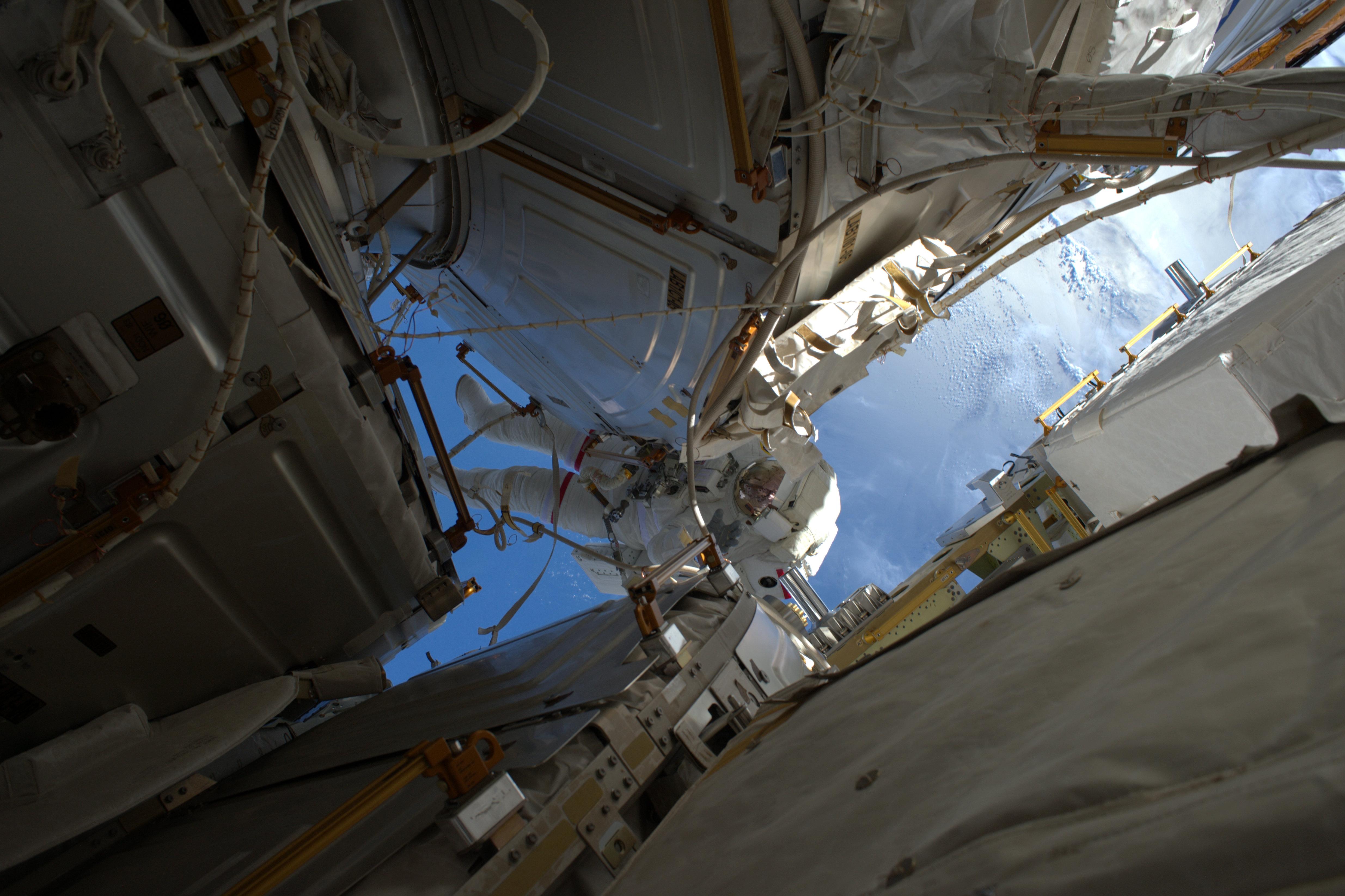 NASA Astronaut Shane Kimbrough on Jan. 13 Spacewalk