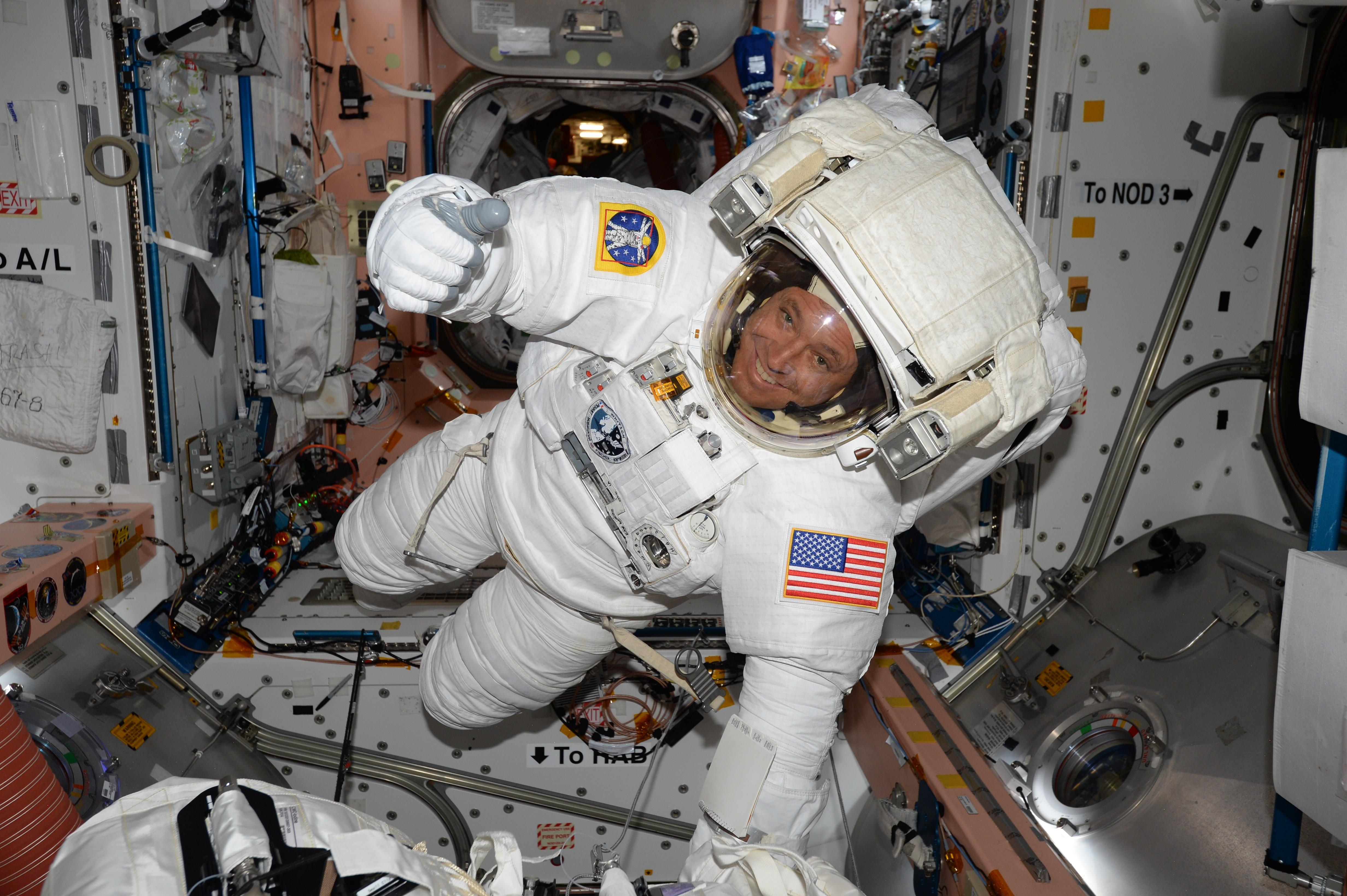 NASA Astronaut Jack Fischer Prepares for Friday Spacewalk ...