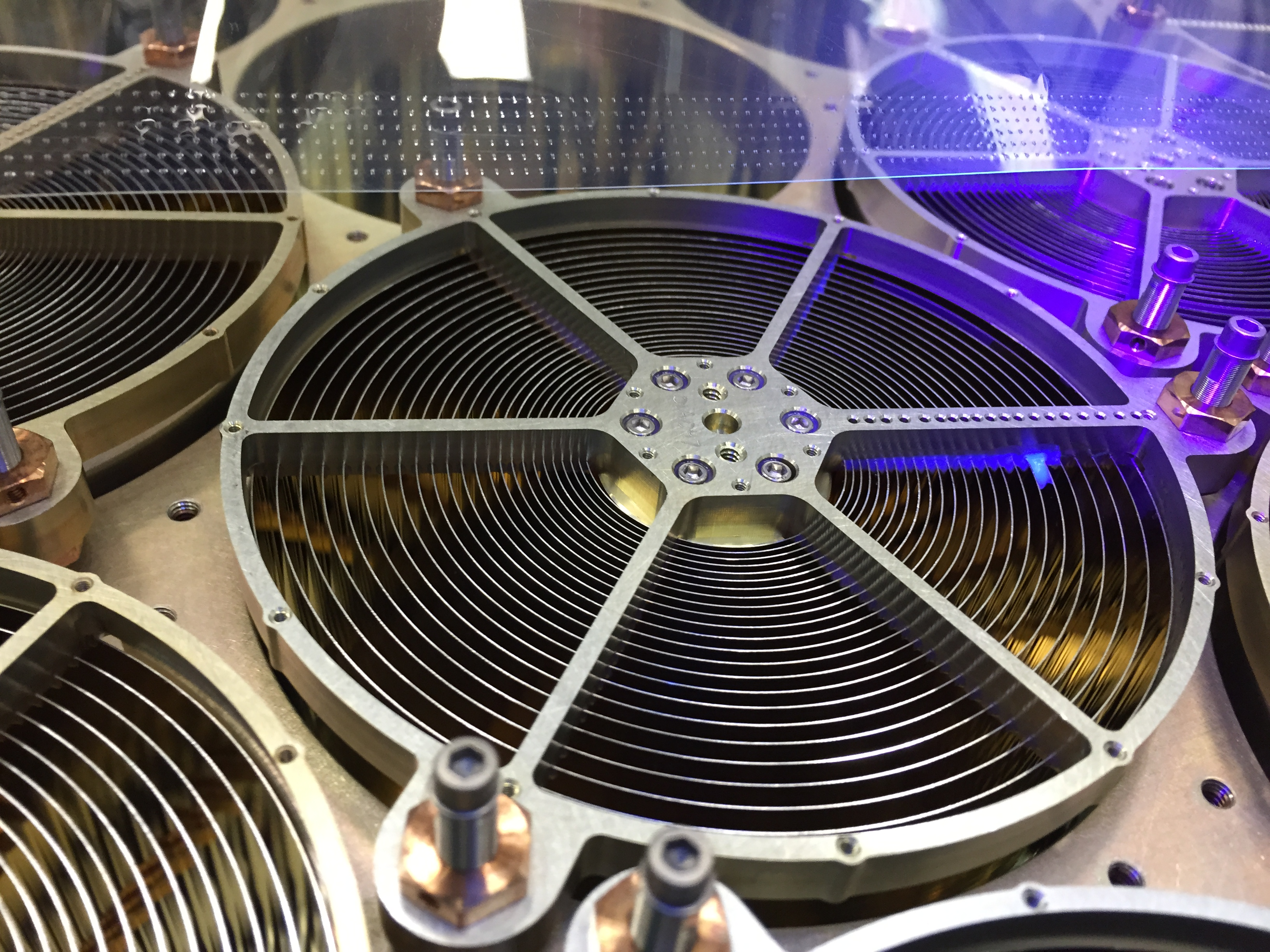 Close-up View of Neutron Star Mission's X-Ray Concentrator Optics