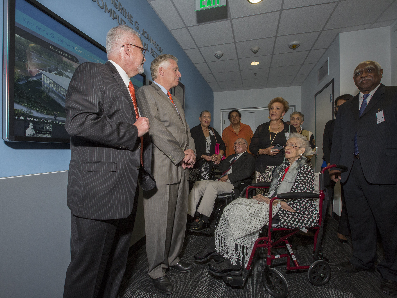 NASA Langley's Katherine Johnson Computational Research