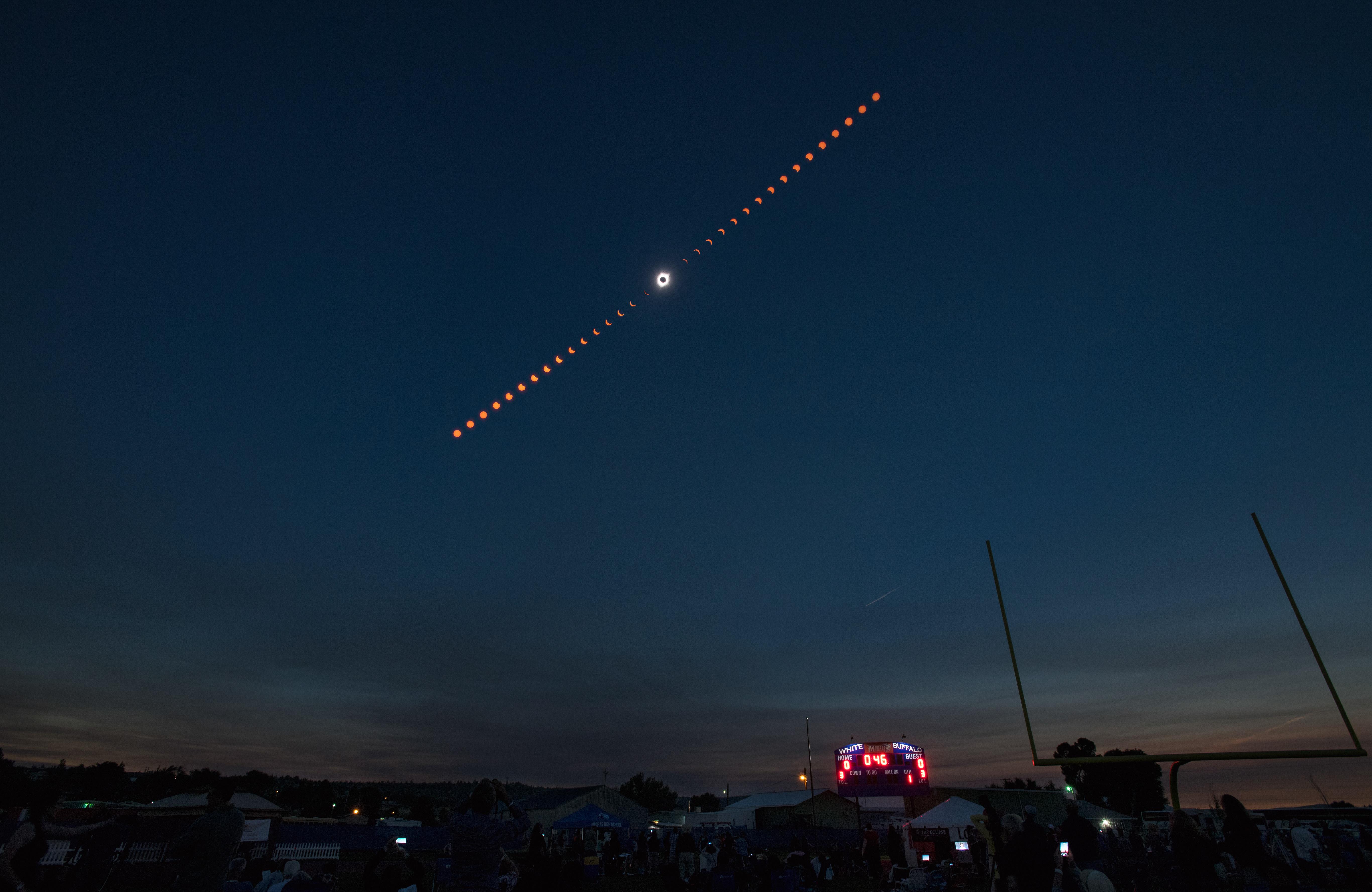 Solar For America >> Total Solar Eclipse Over Madras, Oregon   NASA