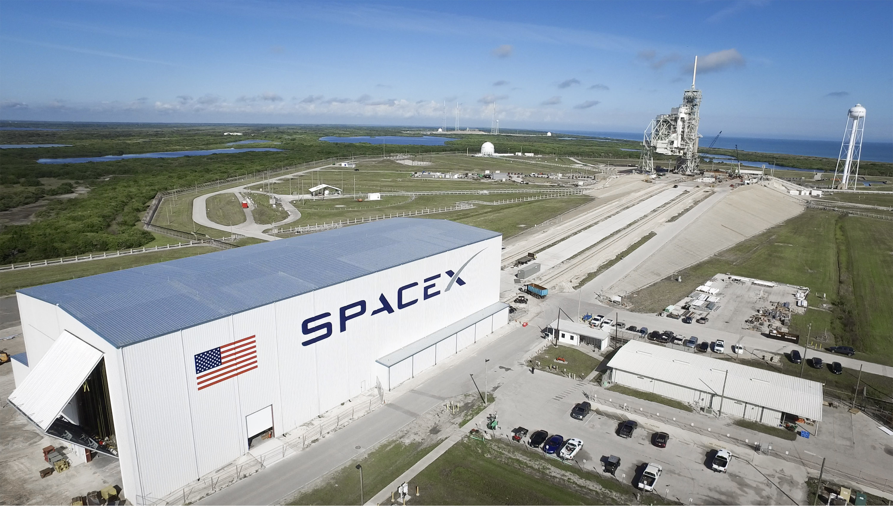 Spacex storage hangar