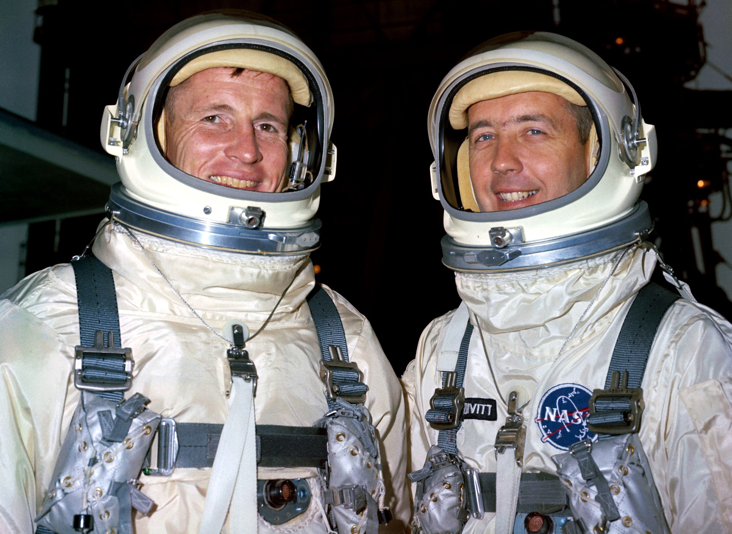 Gemini IV Astronauts at the Launch Pad | NASA