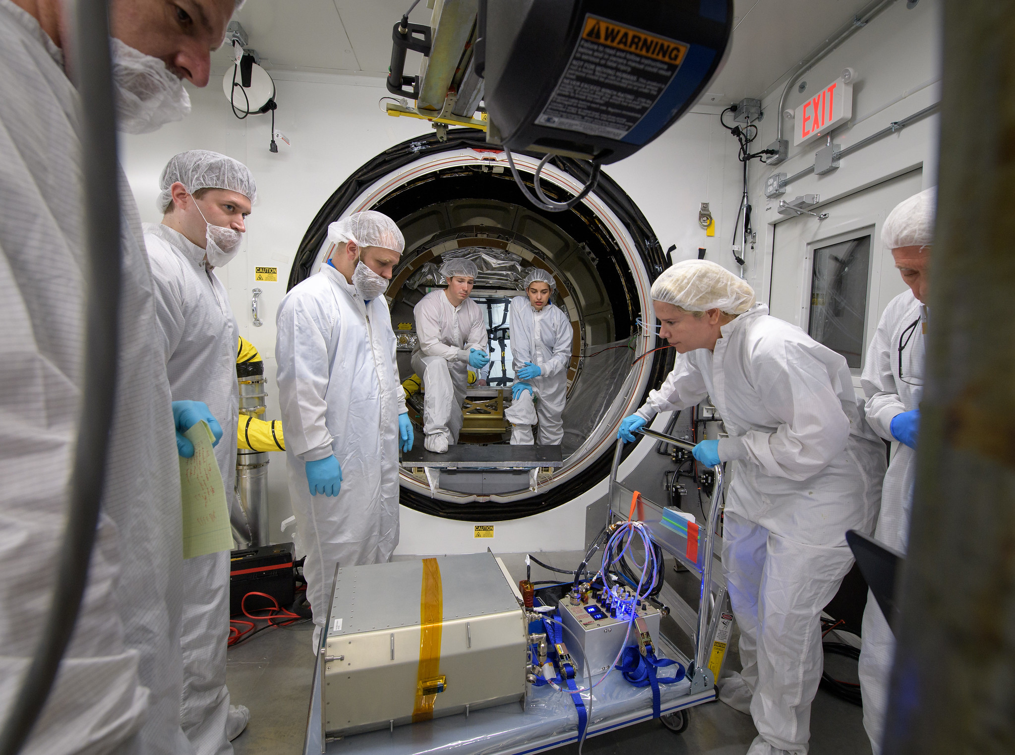 Northrop Grumman Engineers Load Final Cargo for Cygnus Launch