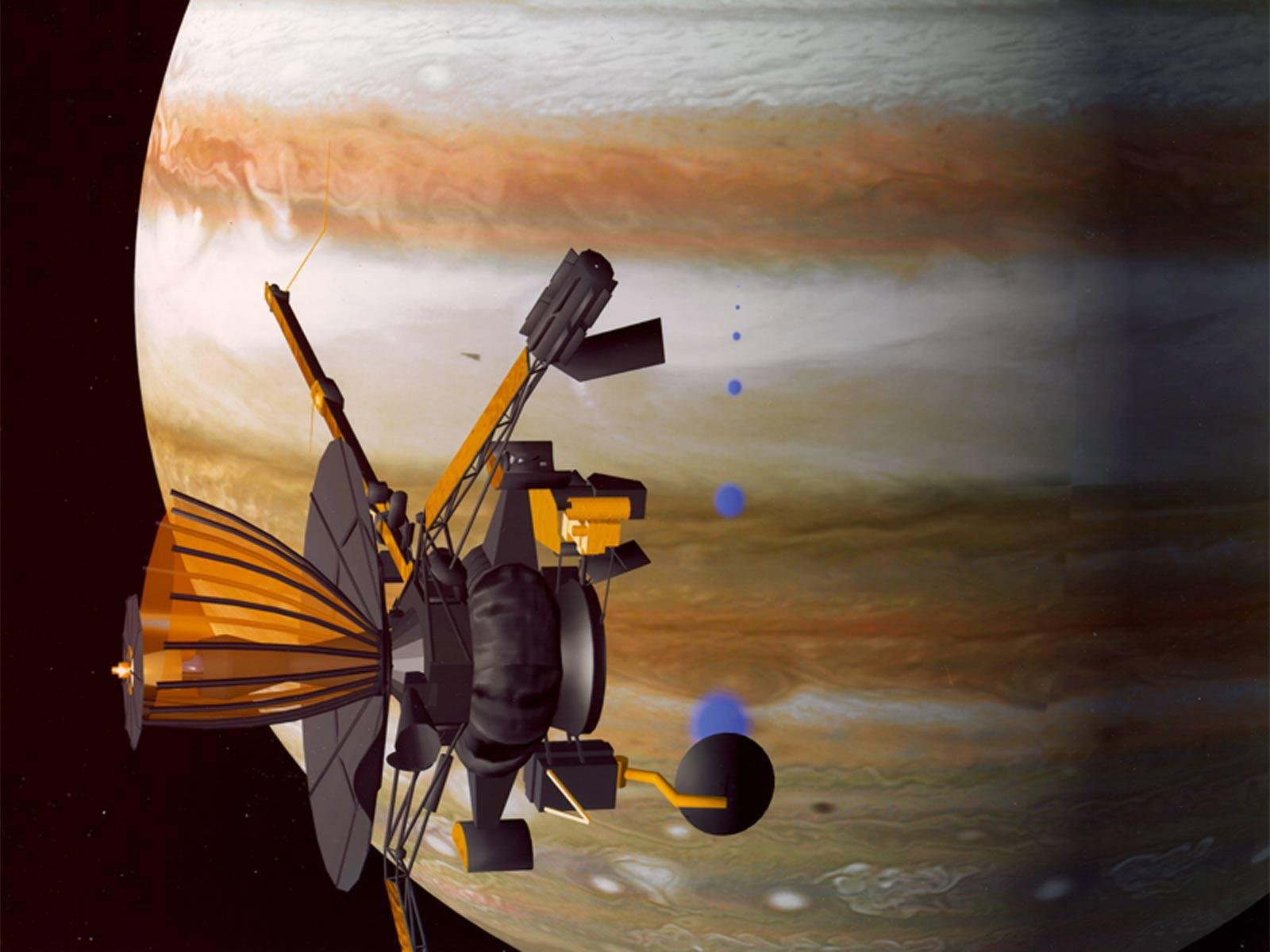Galileo Mission - Artist's Concept | NASA