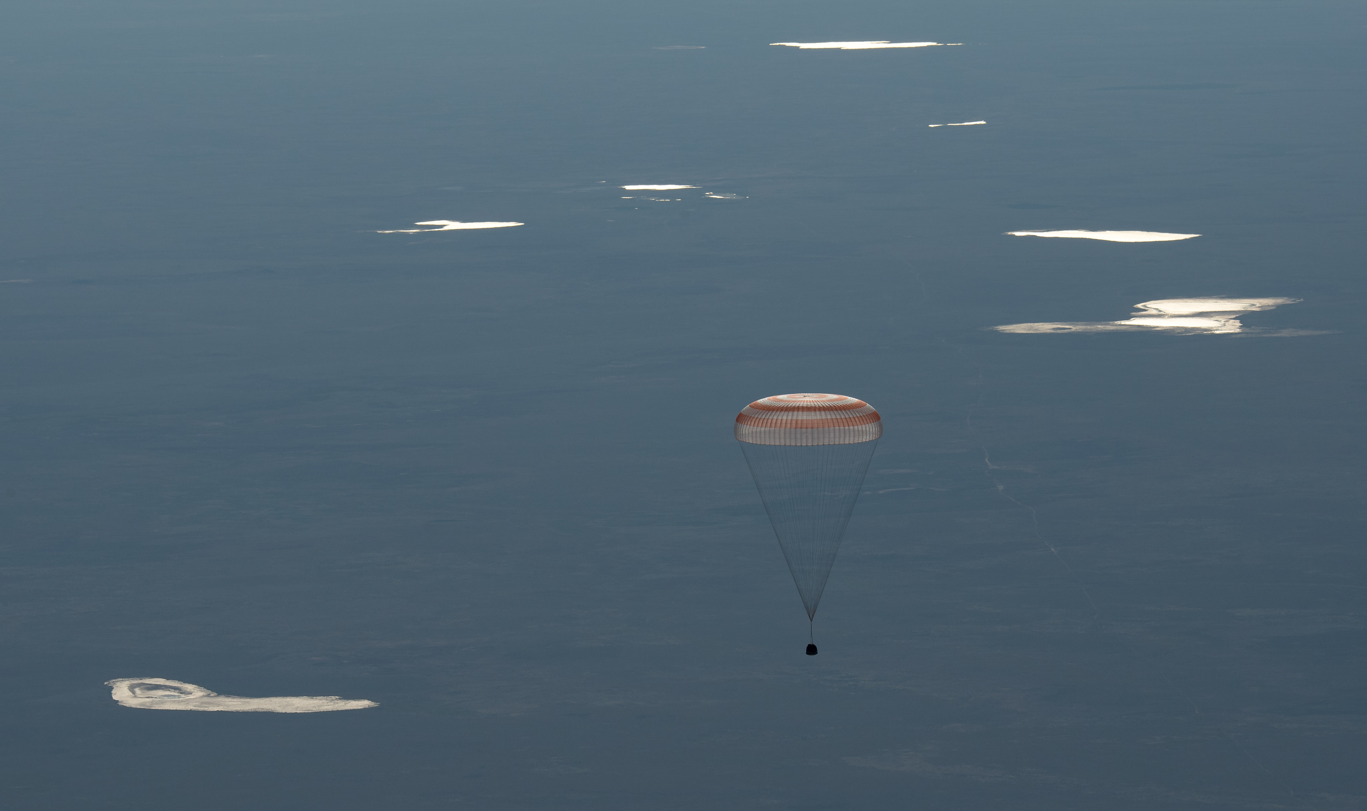 Expedition 55 Crew Returns Home from the International Space Station