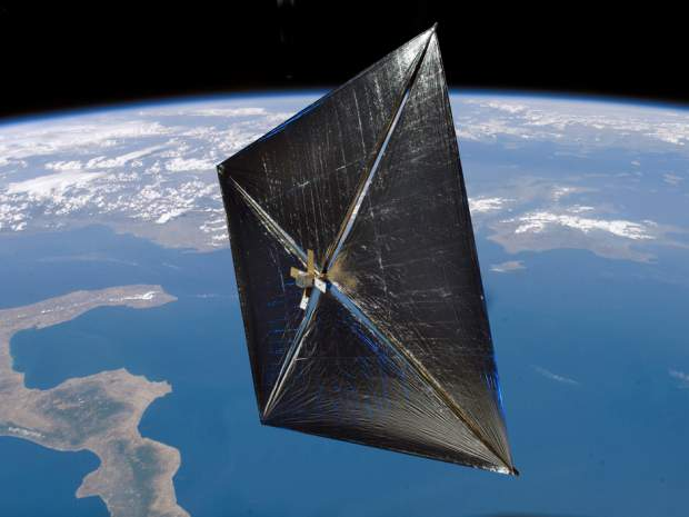Solar Sail Demonstrator ('Sunjammer') | NASA