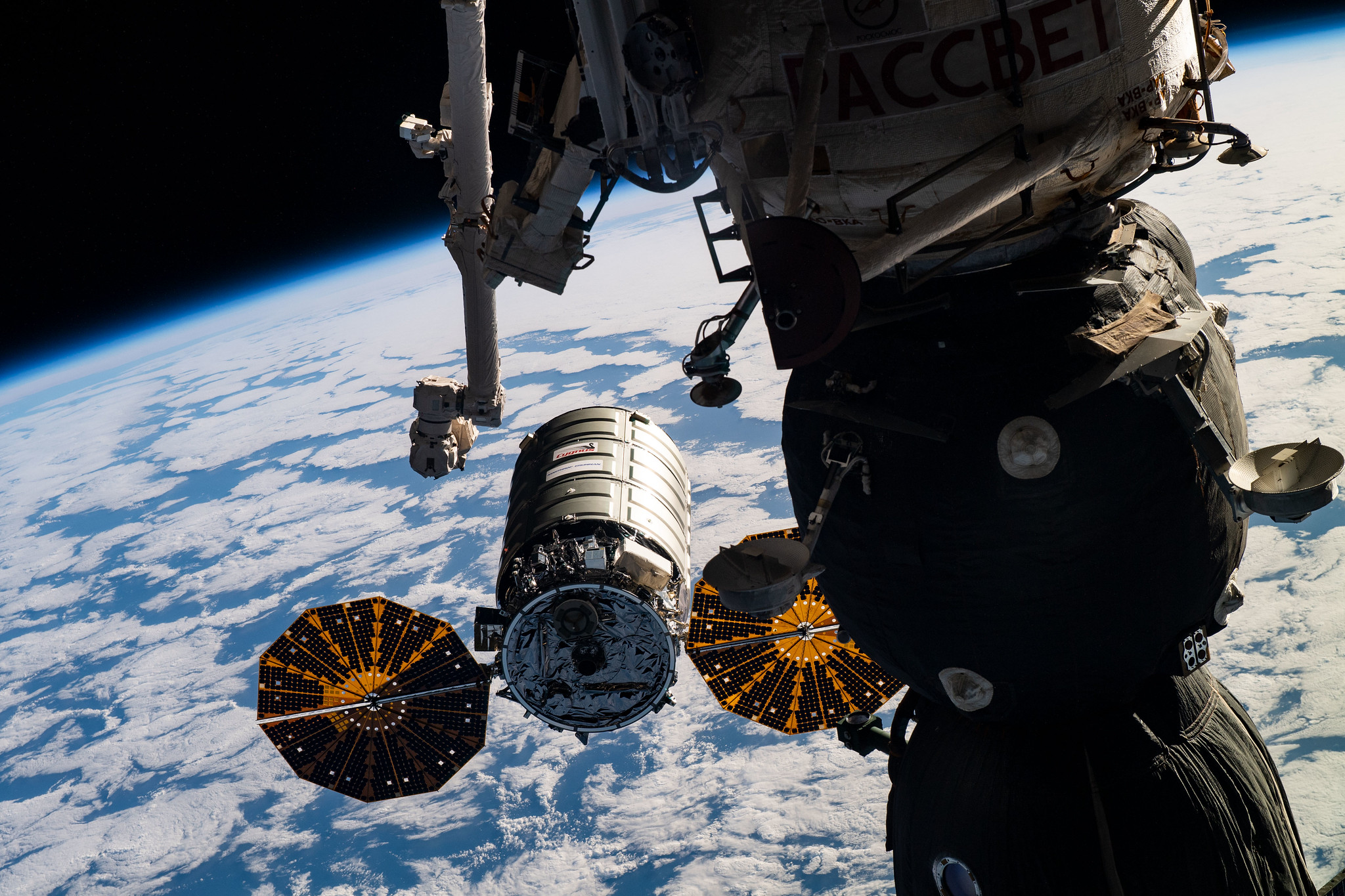 NASA TV to Broadcast Space Station Departure of Cygnus Cargo Ship