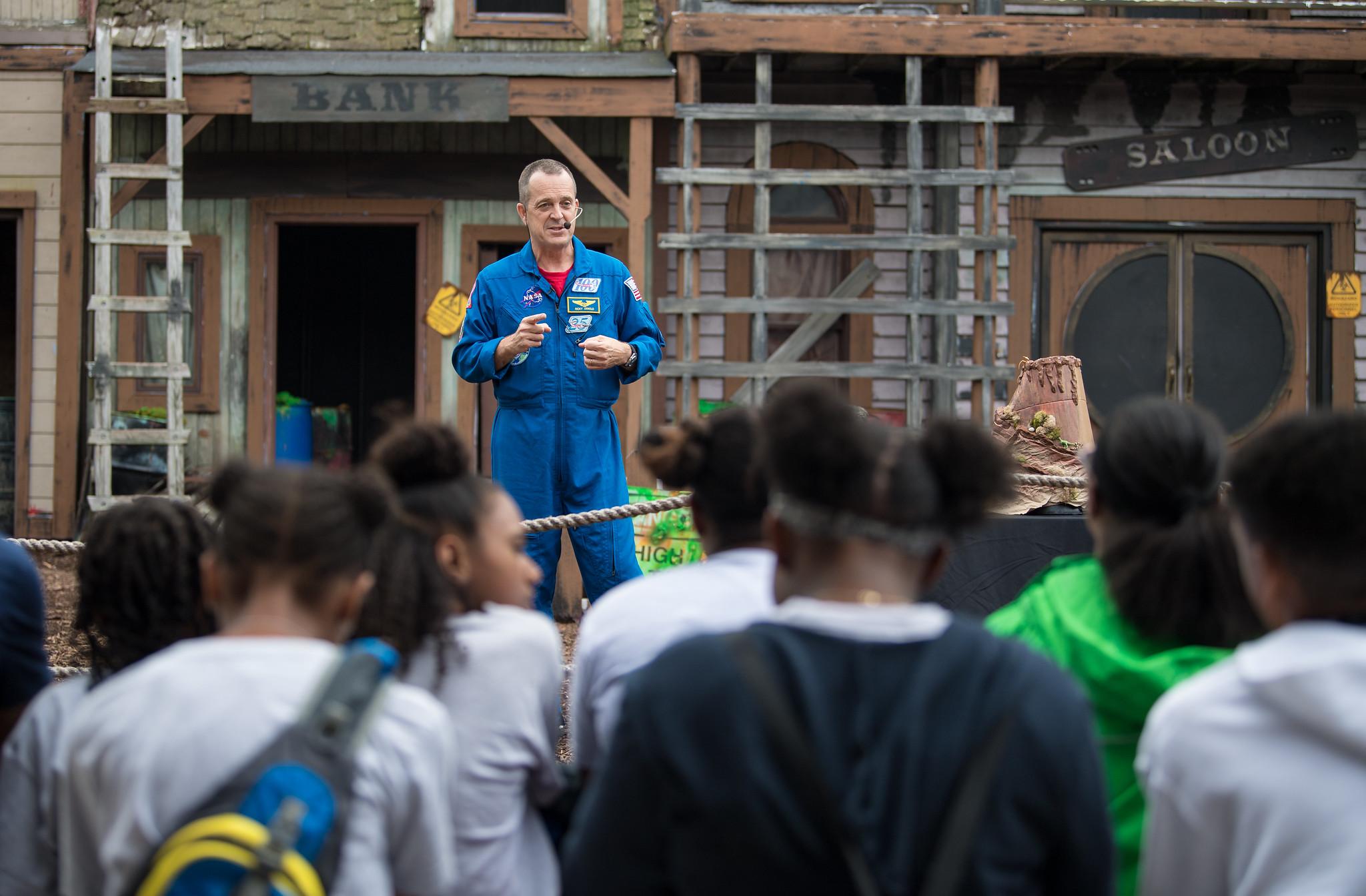 Astronaut Ricky Arnold Talks STEM Education