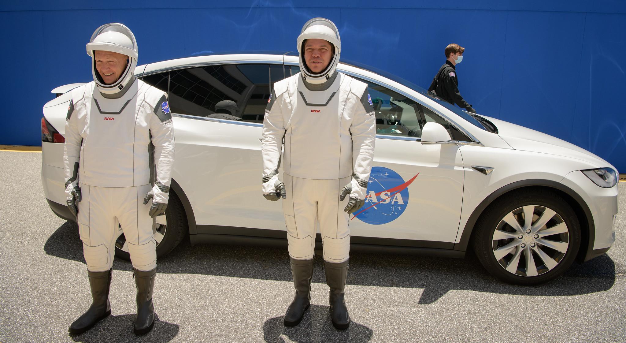 Coverage of Landmark NASA SpaceX Commercial Crew Test Flight | NASA