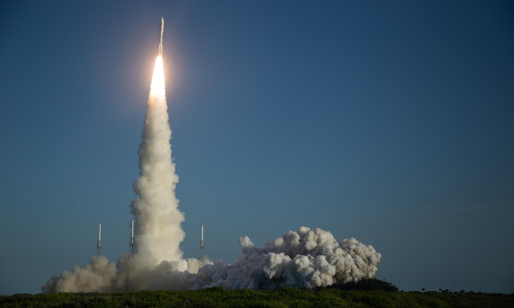 NASA, ULA Launch Mars 2020 Perseverance Rover Mission to ...