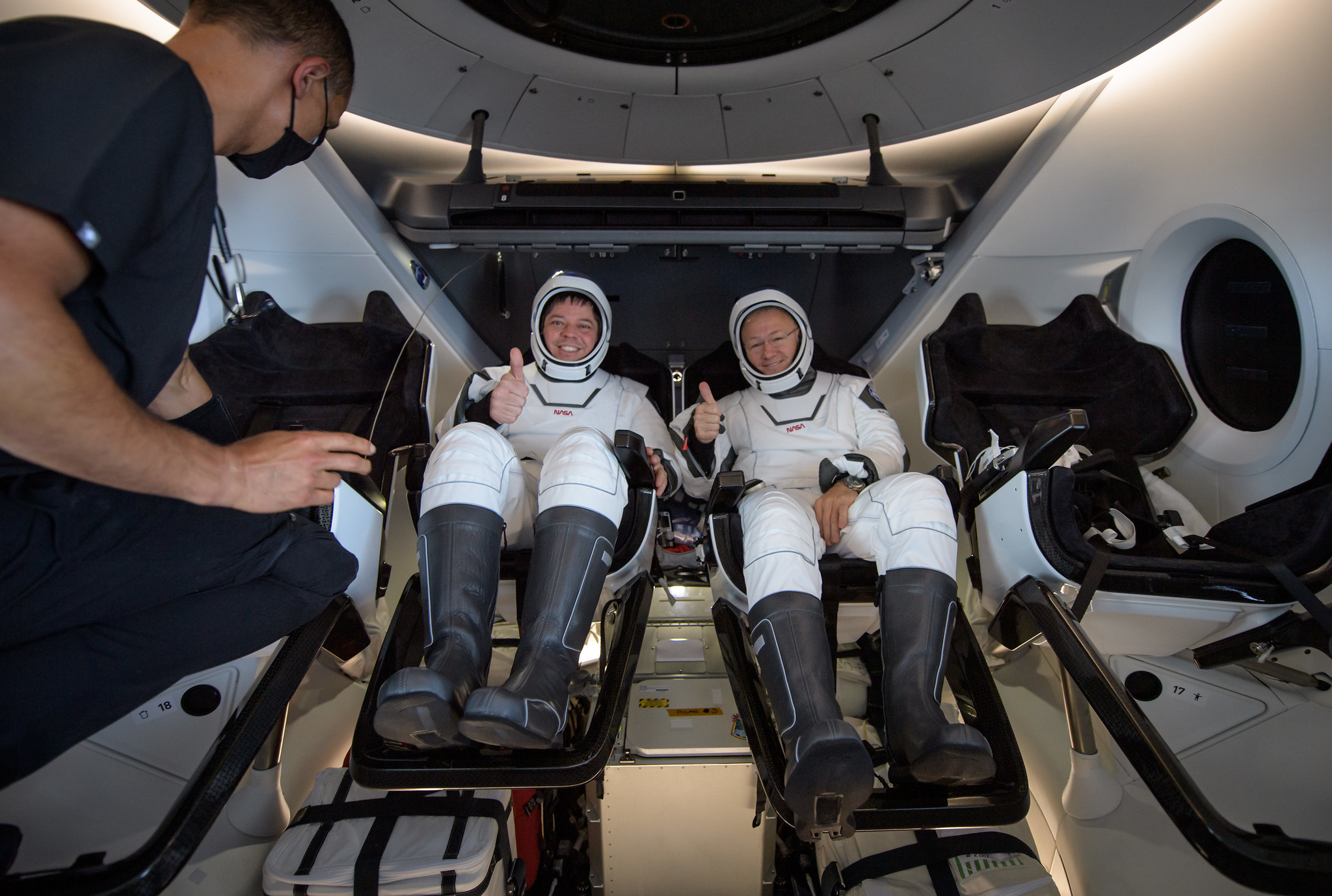 NASA Astronauts to Discuss Historic SpaceX Crew Dragon Test Flight