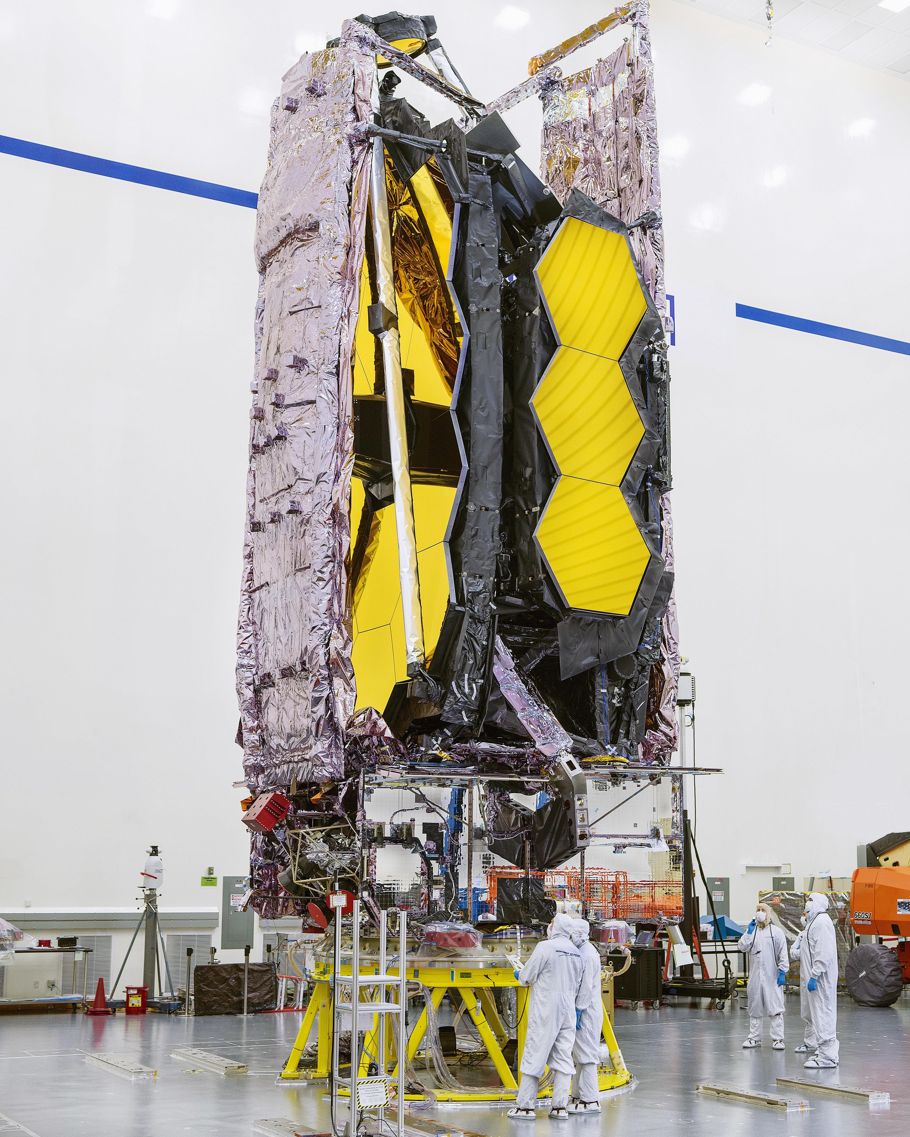 NASA Readies James Webb Space Telescope for December Launch