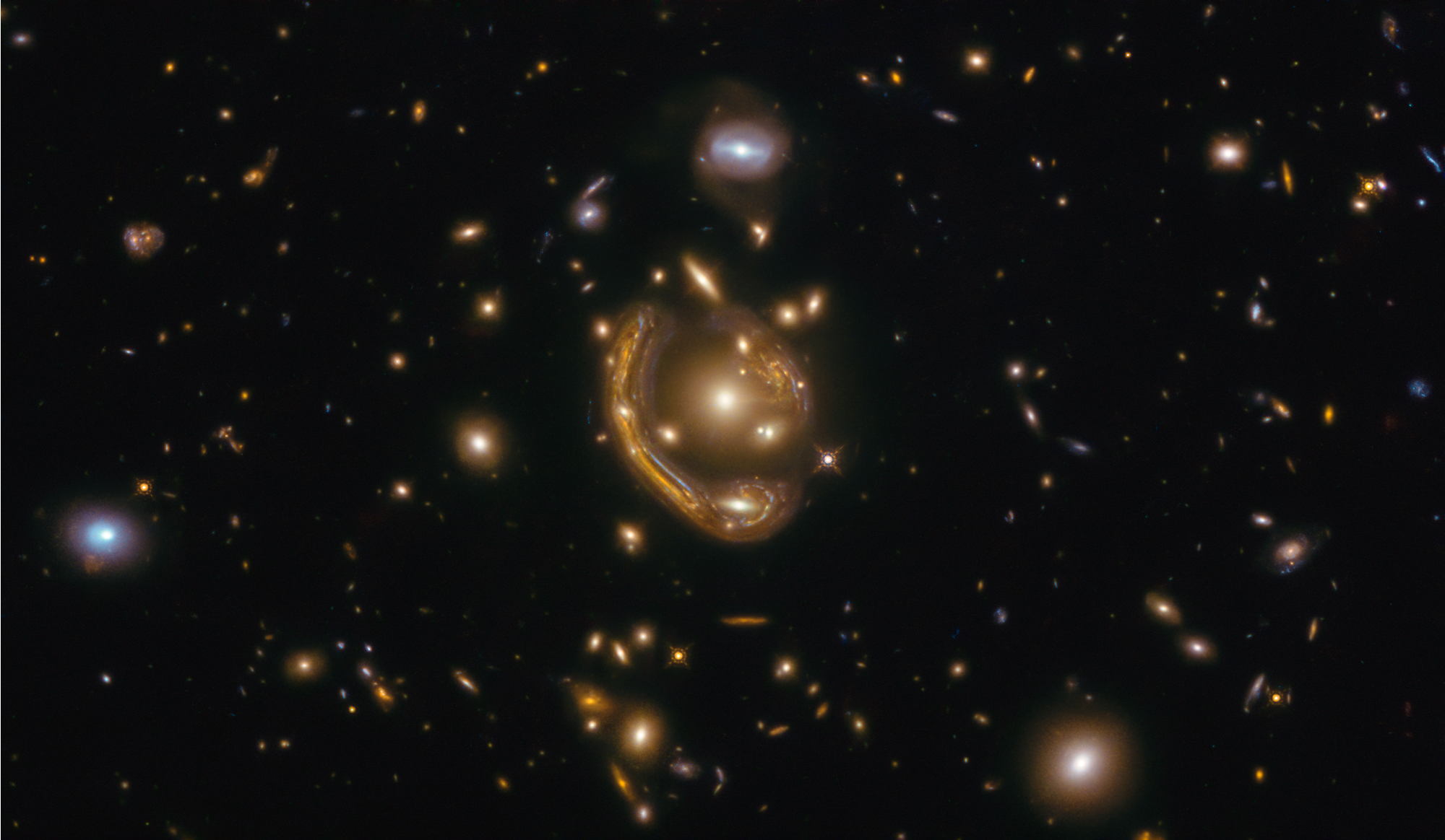 Hubble Snapshot of Molten Ring Galaxy Prompts New Research