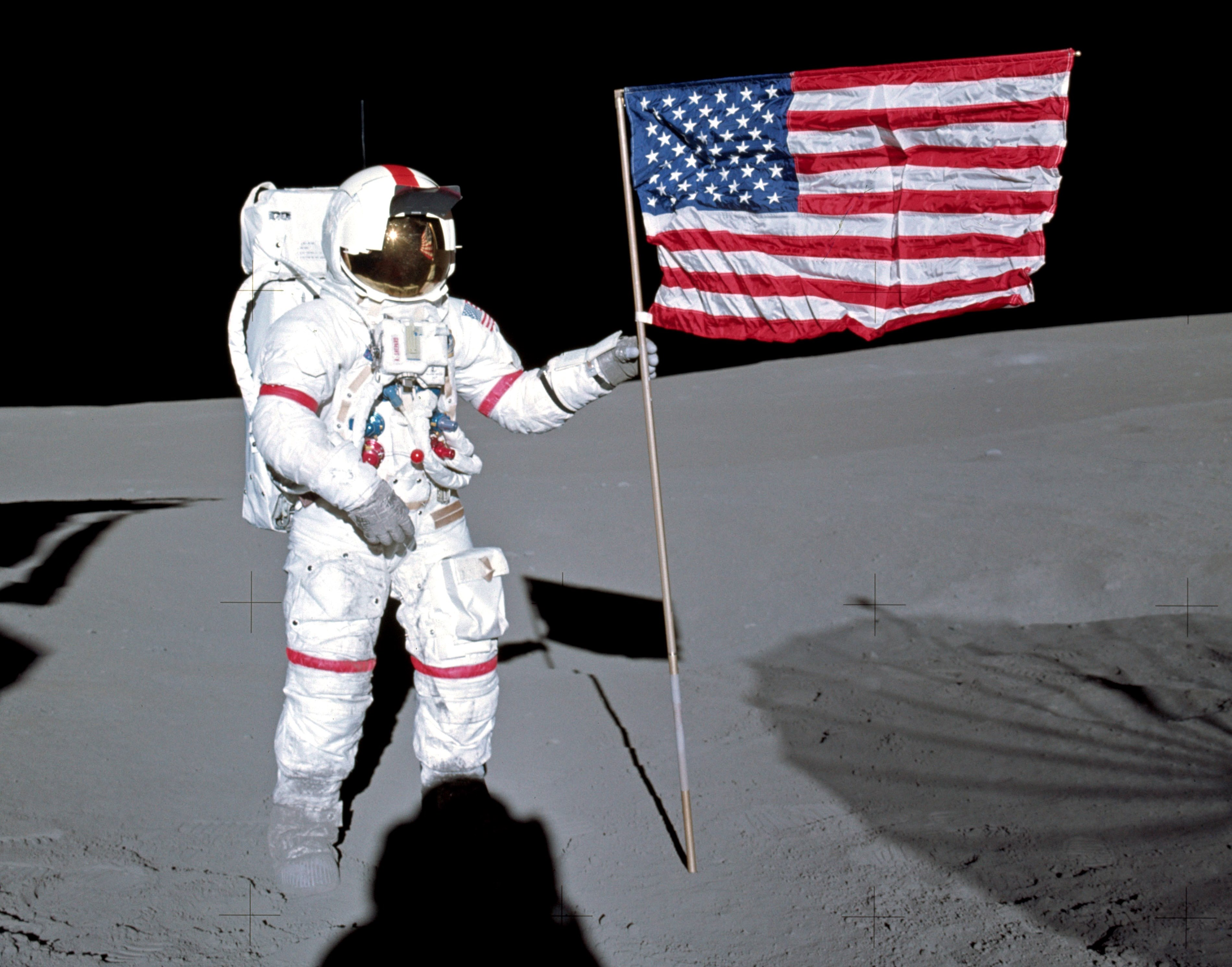 neil armstrong on the moon - HD 3799×2982