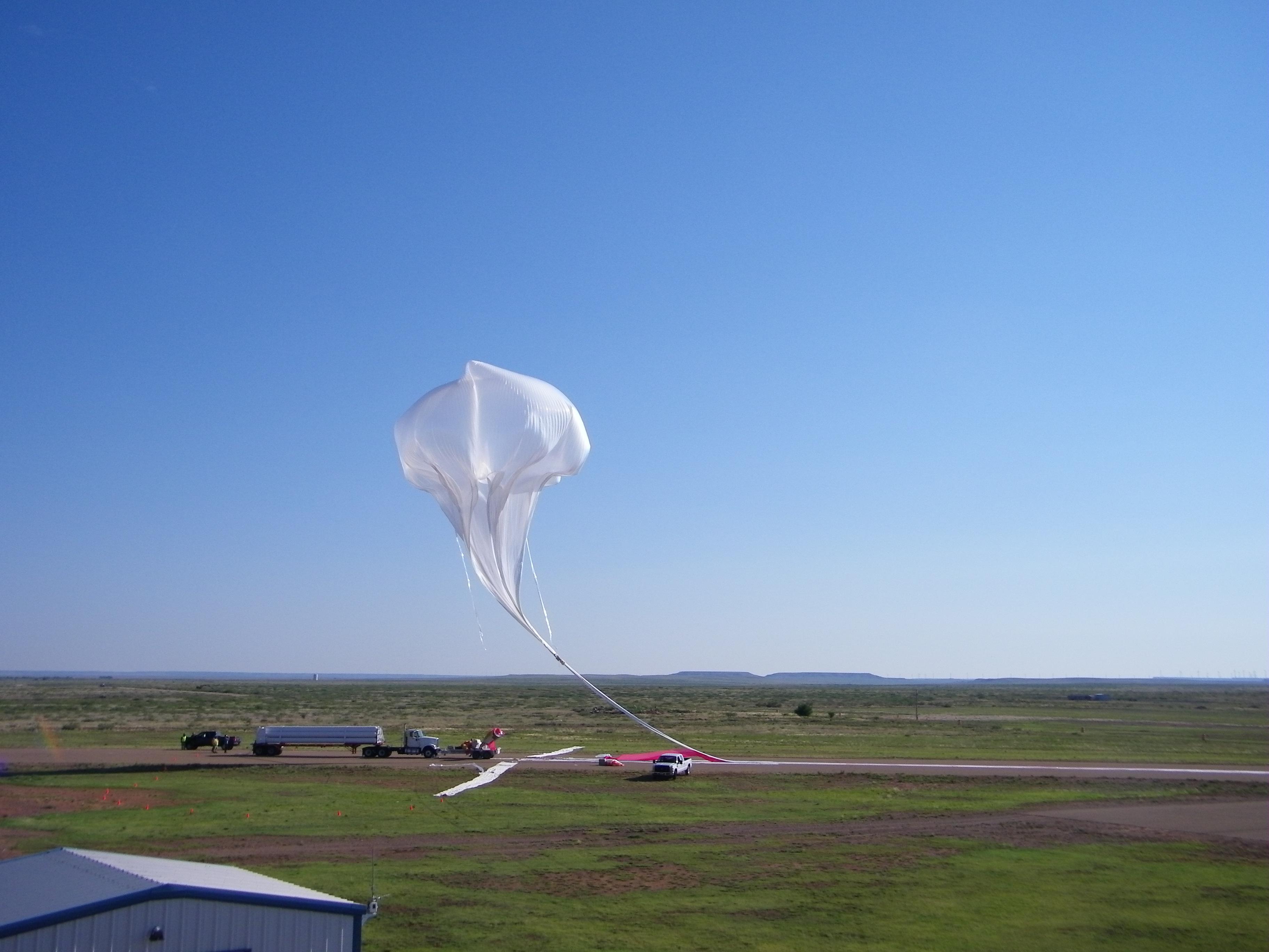 Touchdown! NASA's Football Stadium-sized Science Balloon