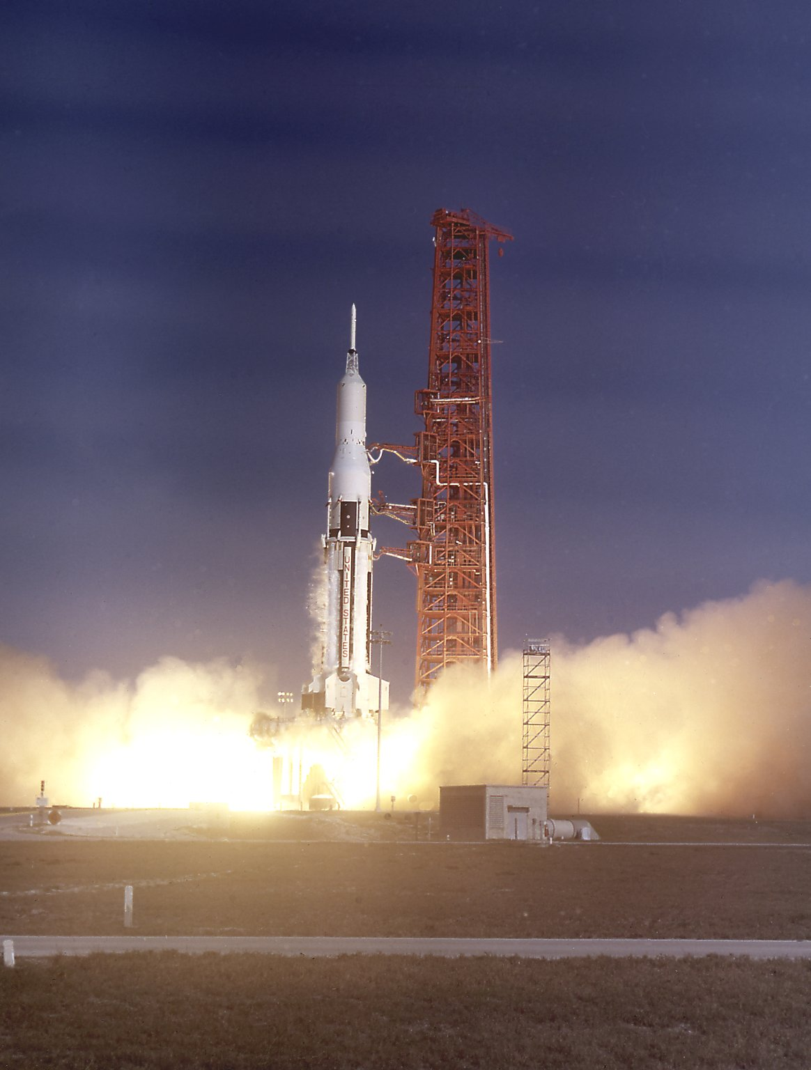 First Saturn Operational Payload Pegasus 1 Launches