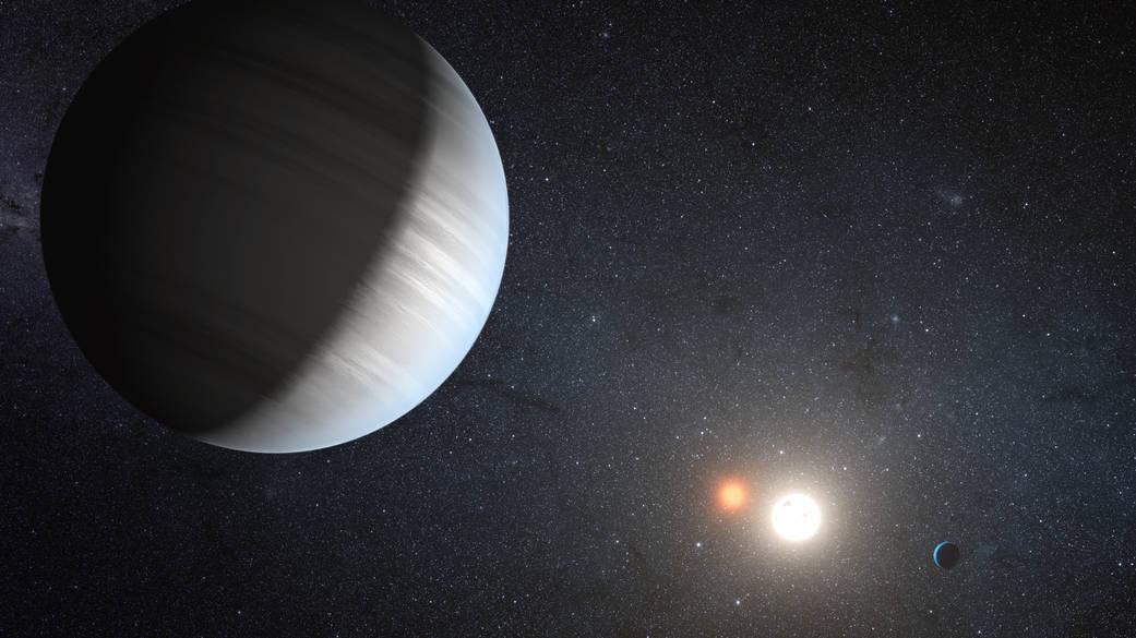 Nasas Kepler Discovers Multiple Planets Orbiting A Pair Of Stars Nasa